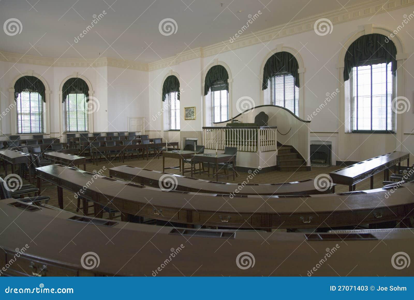 Ideia interior do congresso Salão,