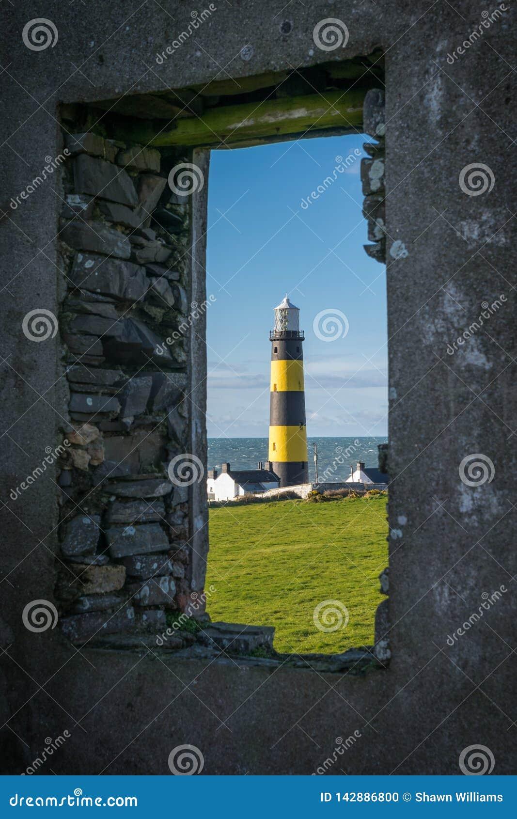 Ideia quadro do ponto Lighhouse de St John