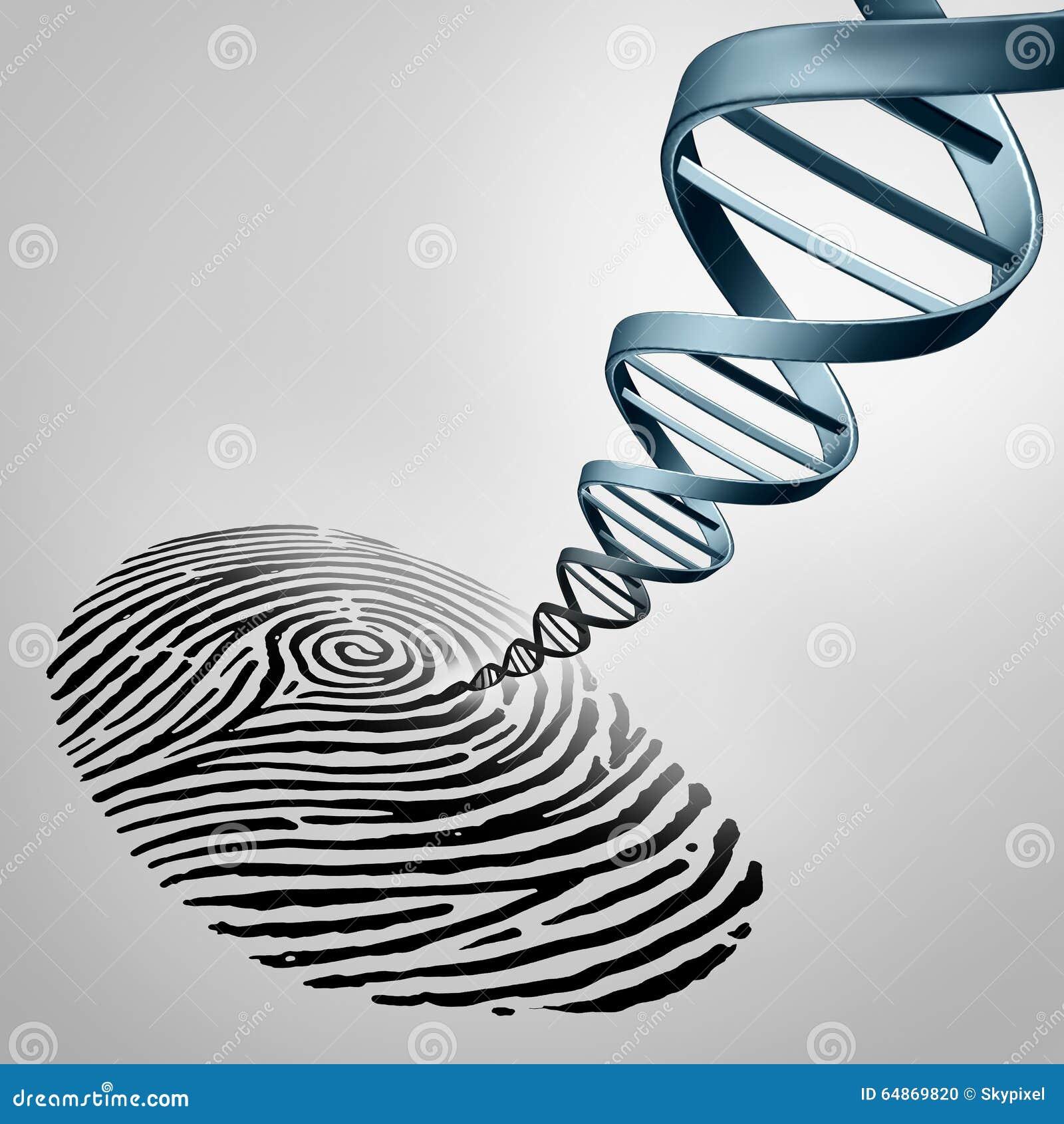 Identificación por huellas digitales genética