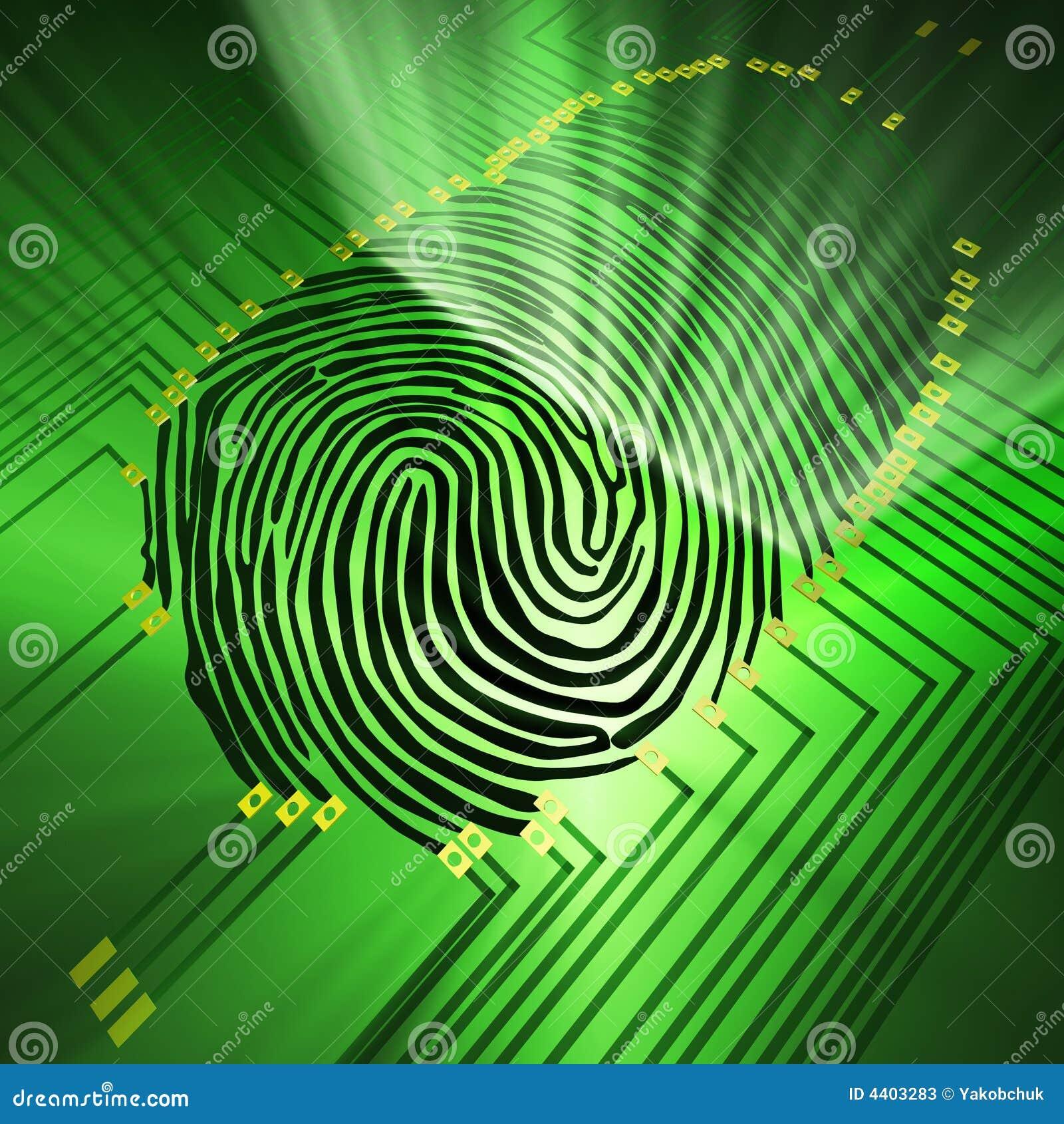 Identifiera med fingeravtryck