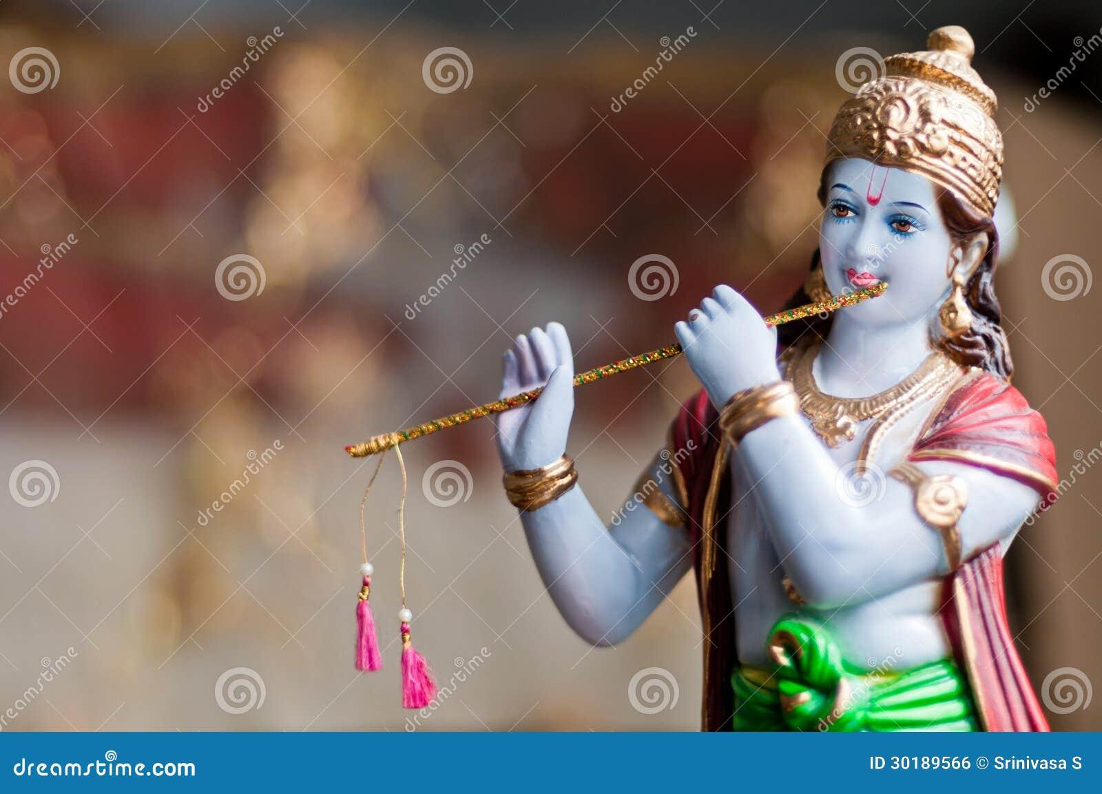 how to call god krishna