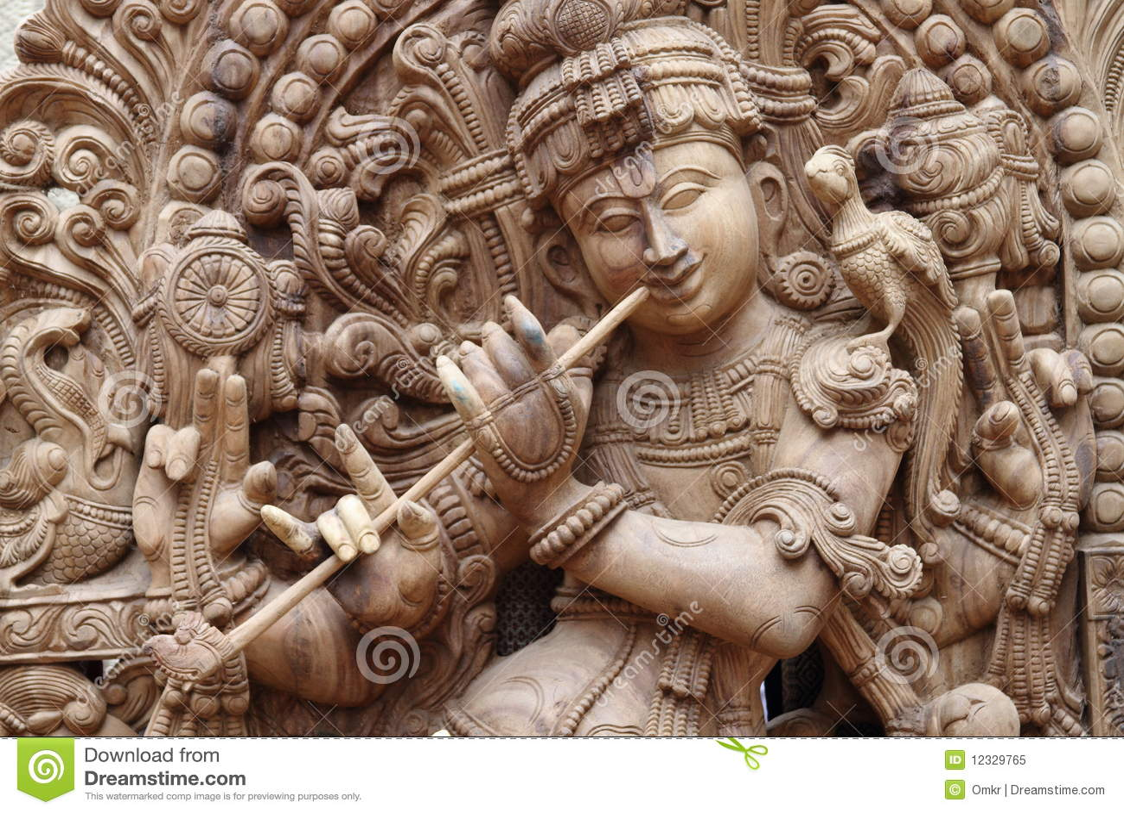 Idol von Lord krishna