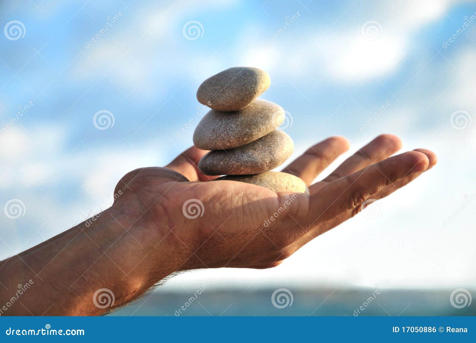 Idyl αρμονίας χεριών ισορροπί&a