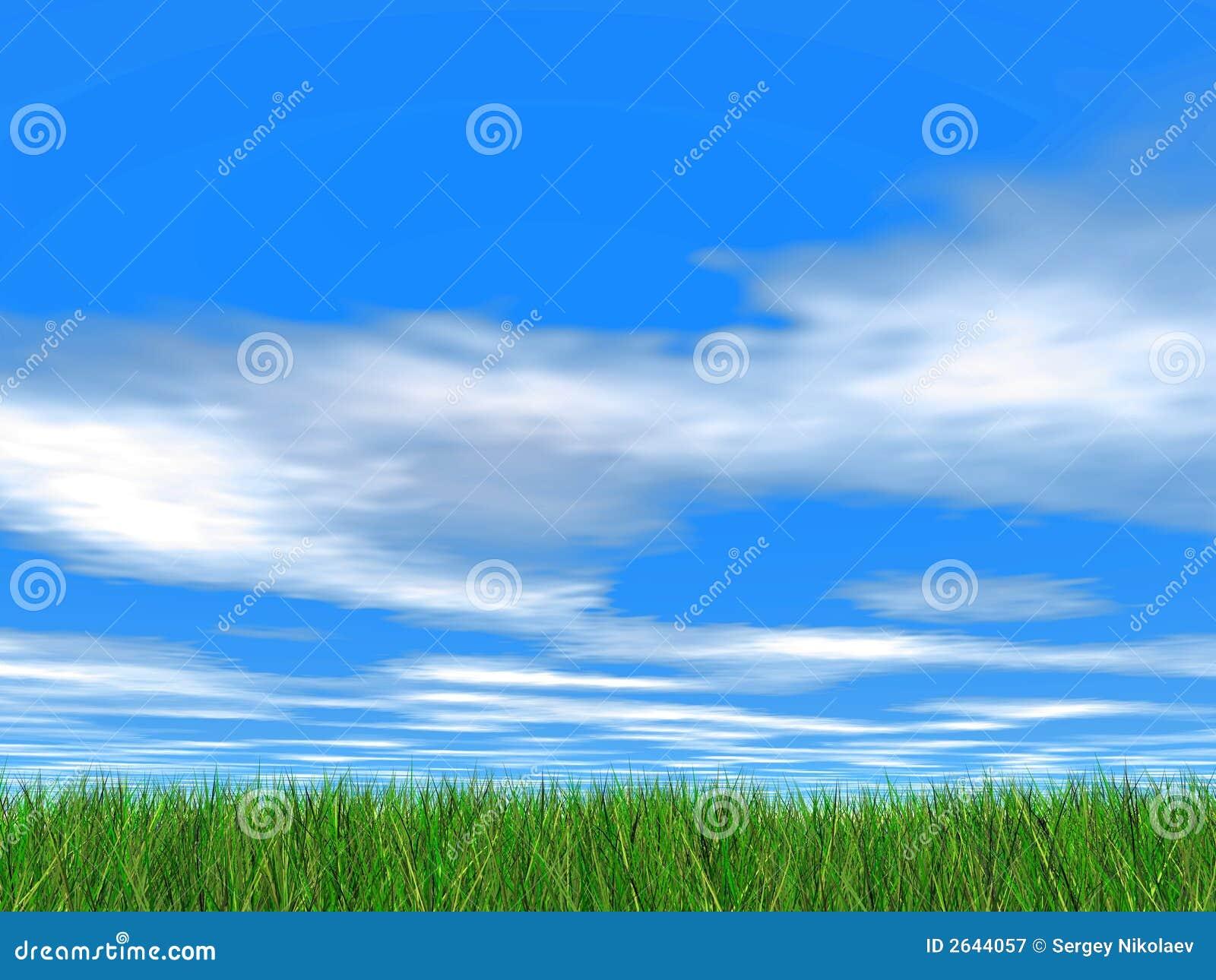 Idyllic sky