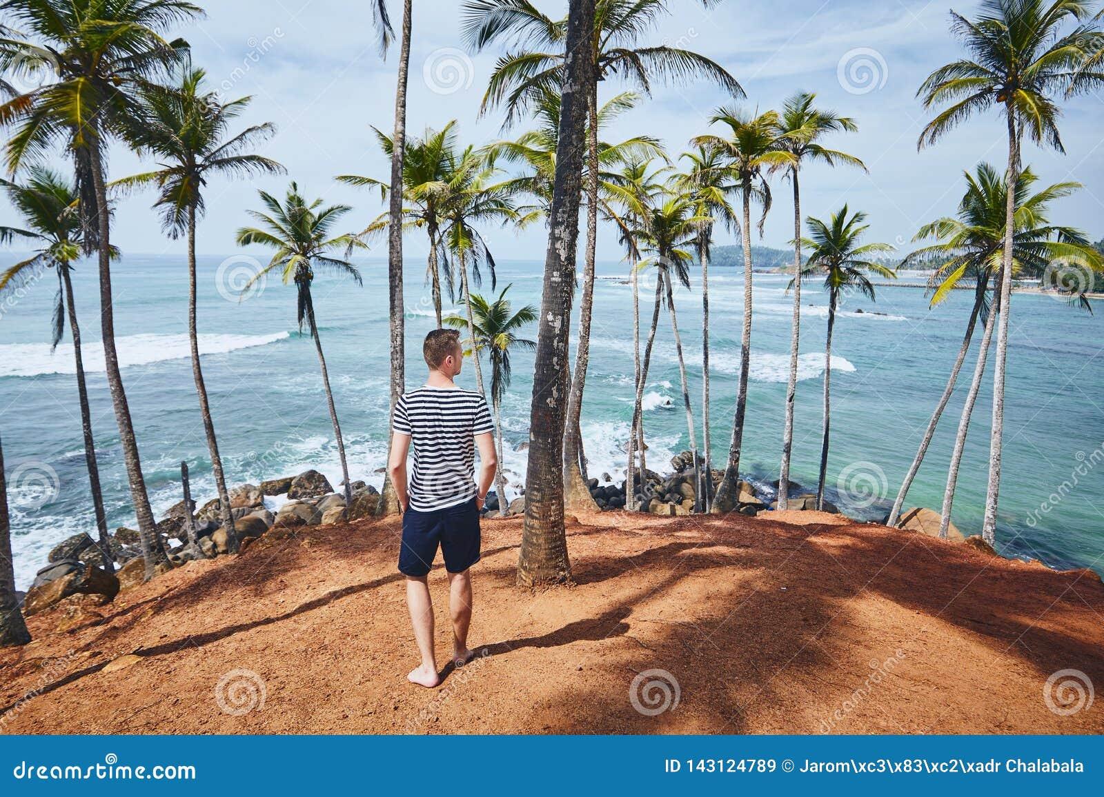Idyllische dag in tropische bestemming