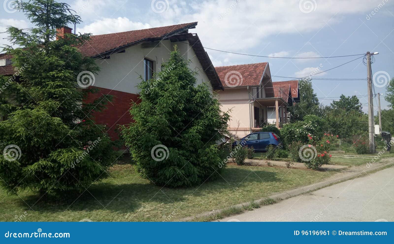 Idylliskt hus