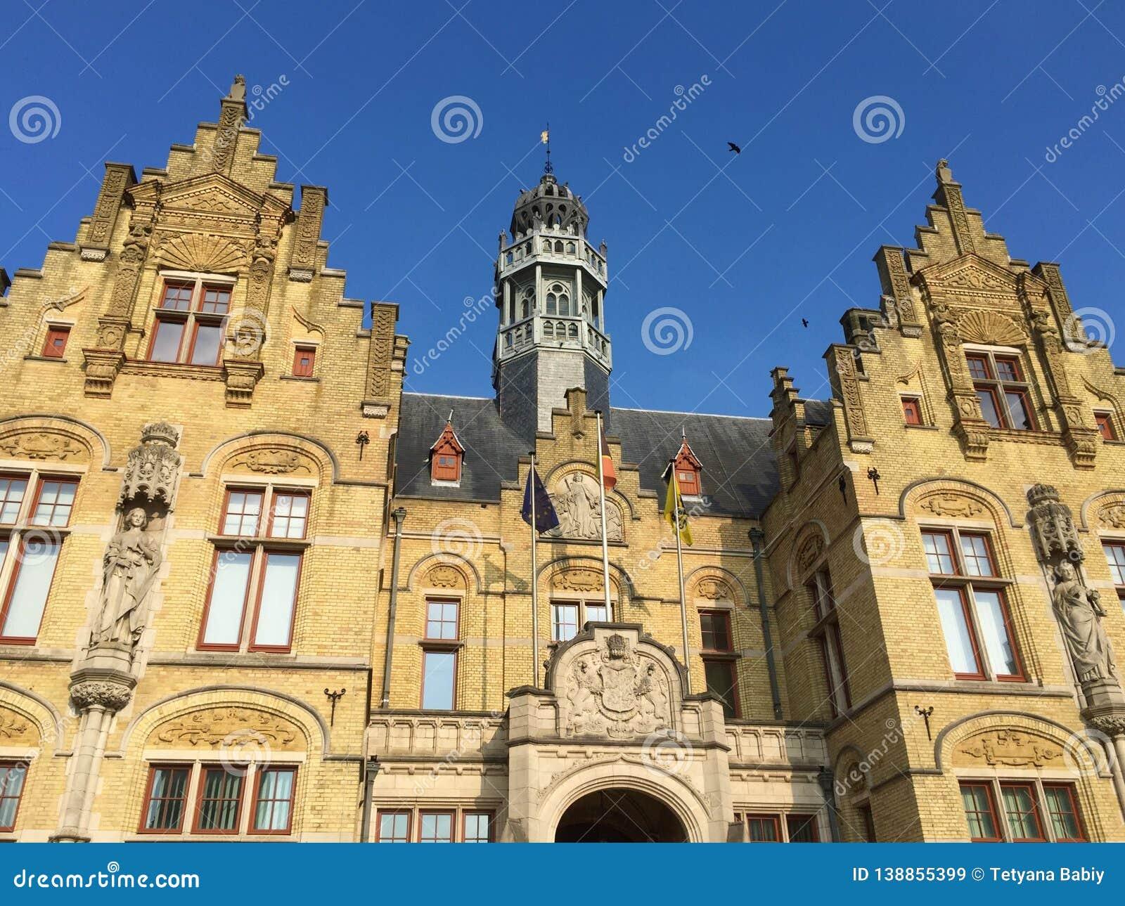 Belgian city of Ypres -