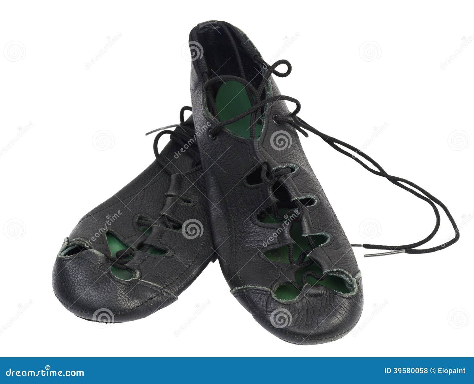 Ierse zachte dansende schoenen