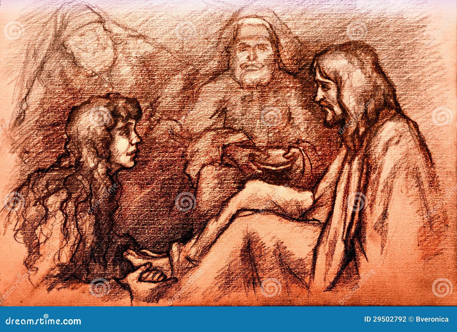 Iesus Christus en Mary Magdalene