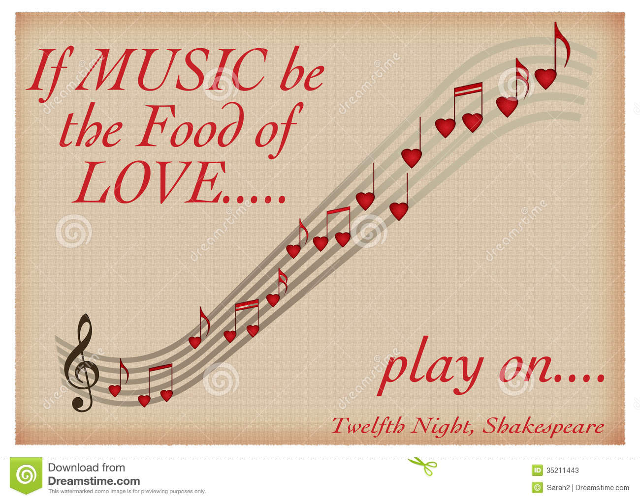 quotes to my teacher in valentines day - If Music Be The Food Love Play Shakespeare