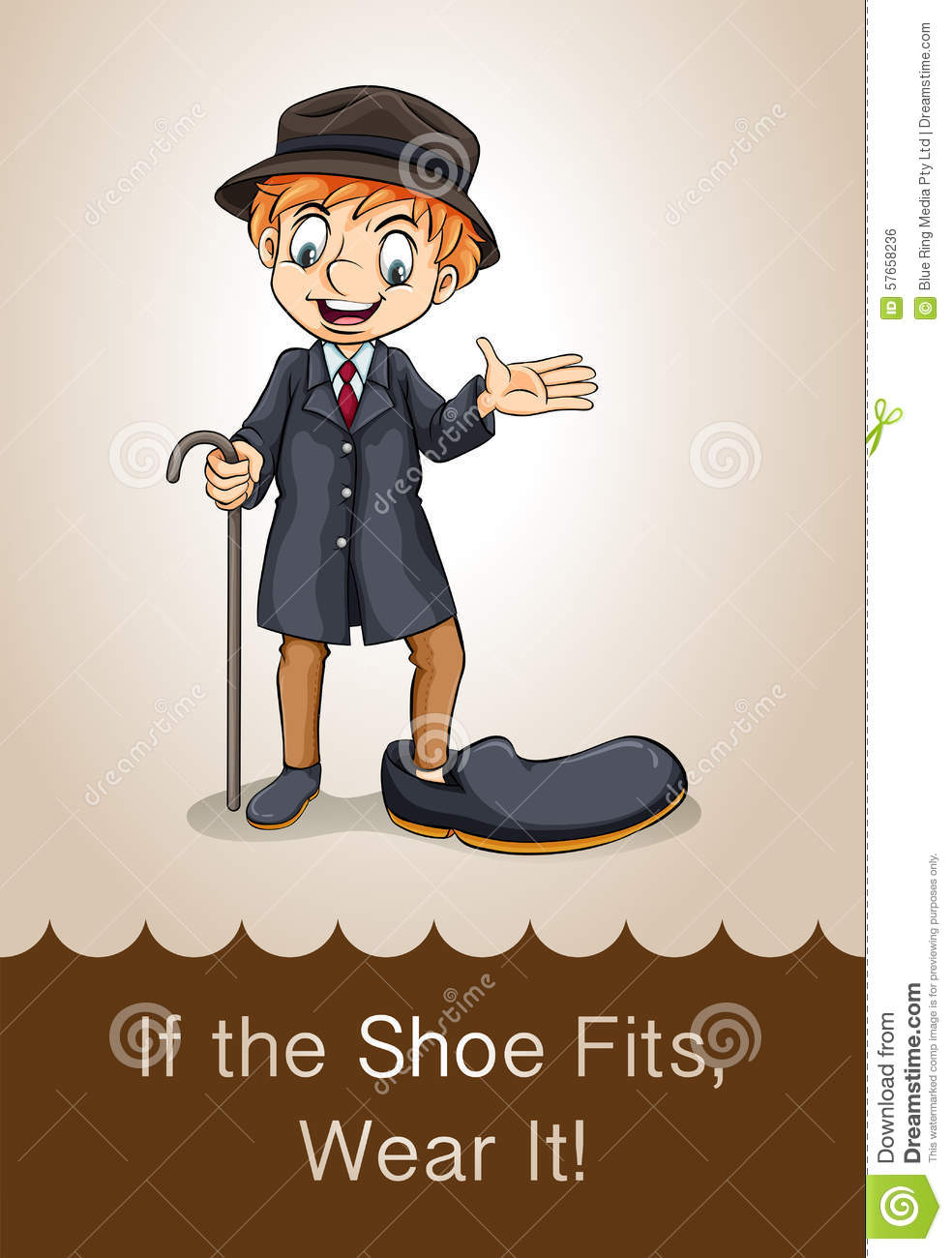 If The Shoe Fits Wear It Idiom