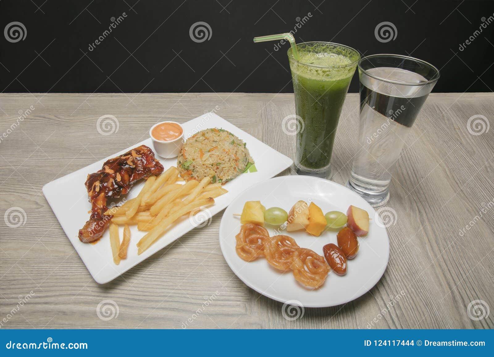 Iftar Food platter for Ramadan month