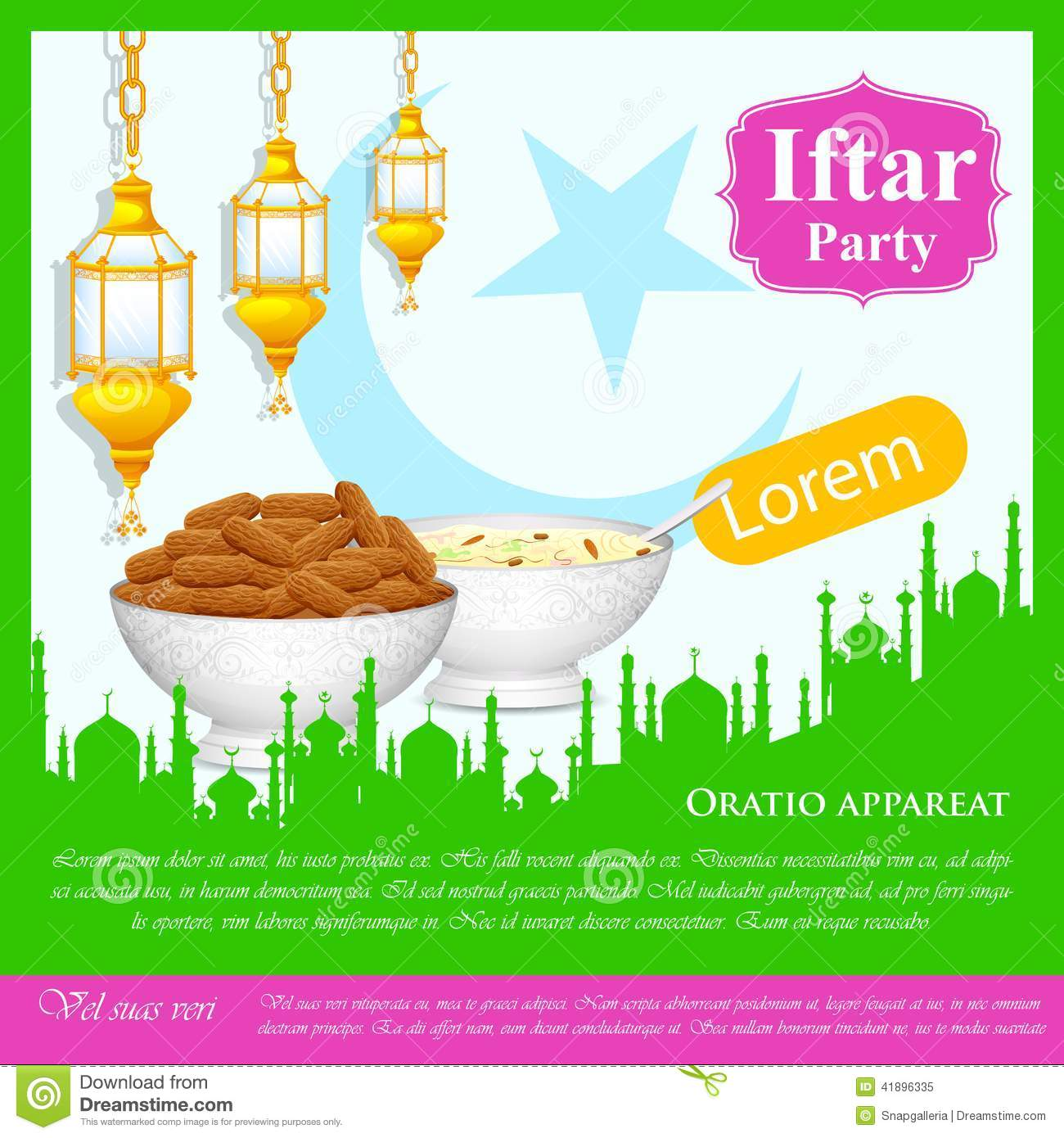 Iftar Banners Dining Table Banners