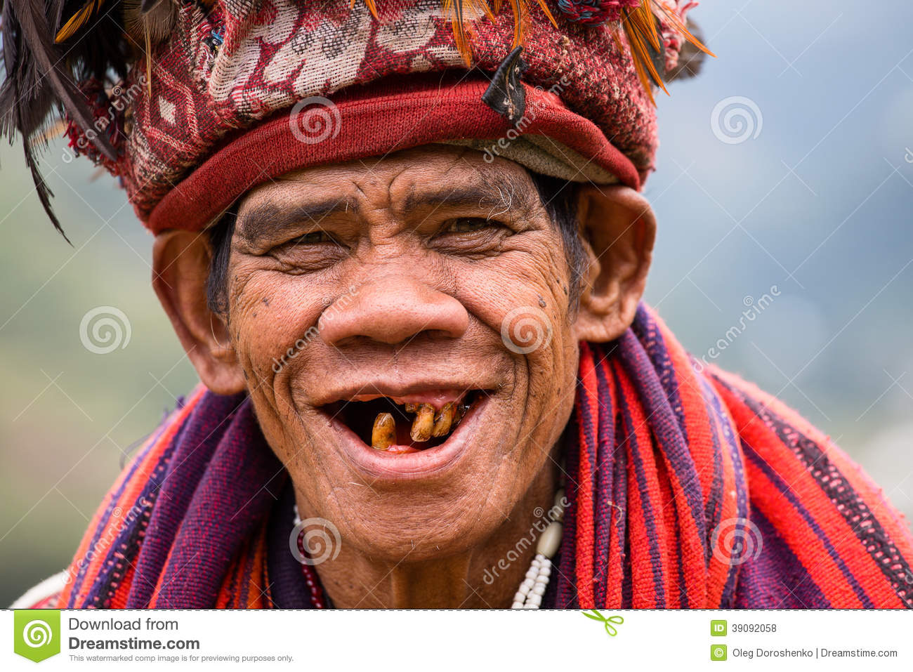 Ifugao - The People In The Philippines. Editorial Image - Image ...
