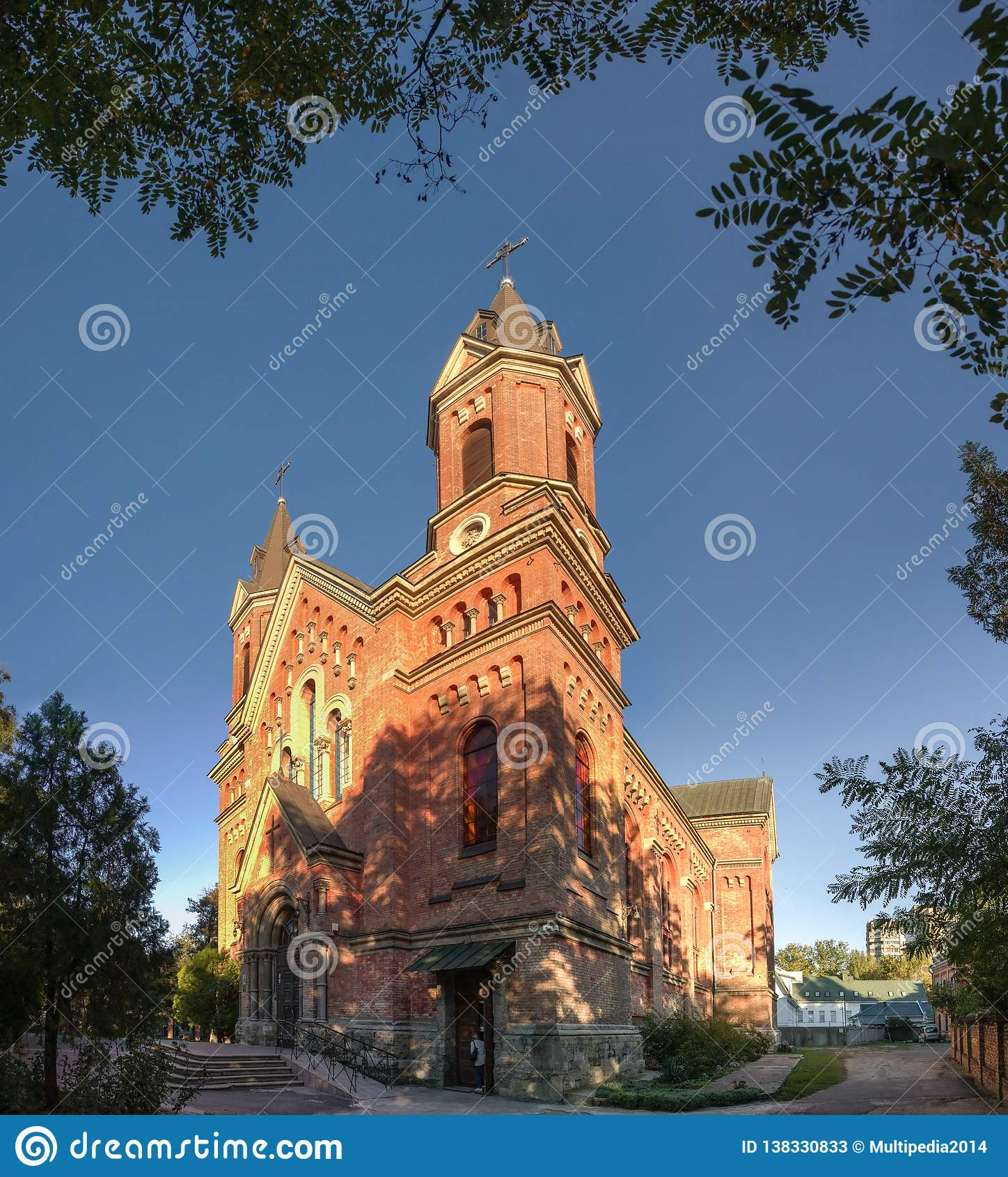 Iglesia católica de San José en Nikolaev, Ucrania