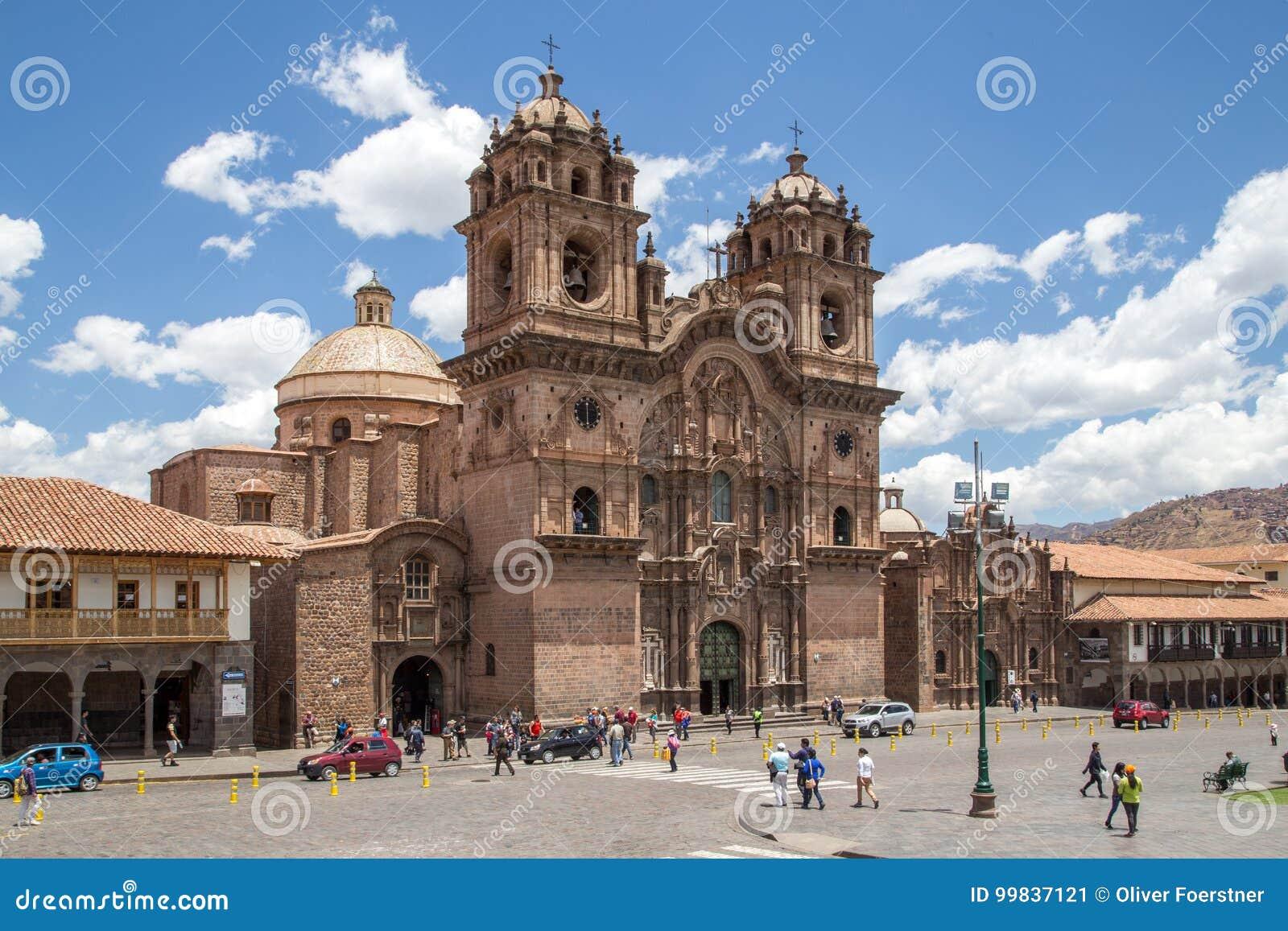 Iglesia católica en Cusco, Perú