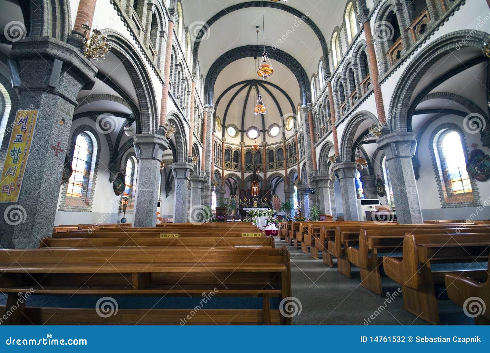 Iglesia católica en el Sur Corea