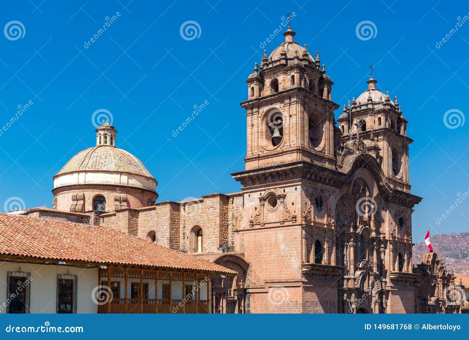 Iglesia de la sociedad de Jesús de Cusco, Perú