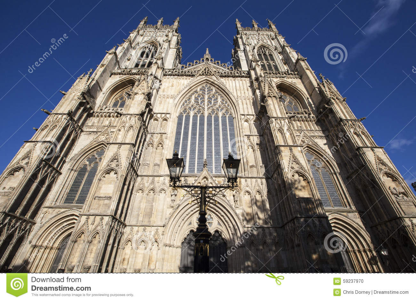 Download Iglesia De Monasterio De York Foto de archivo - Imagen de iglesias, historia: 59237970