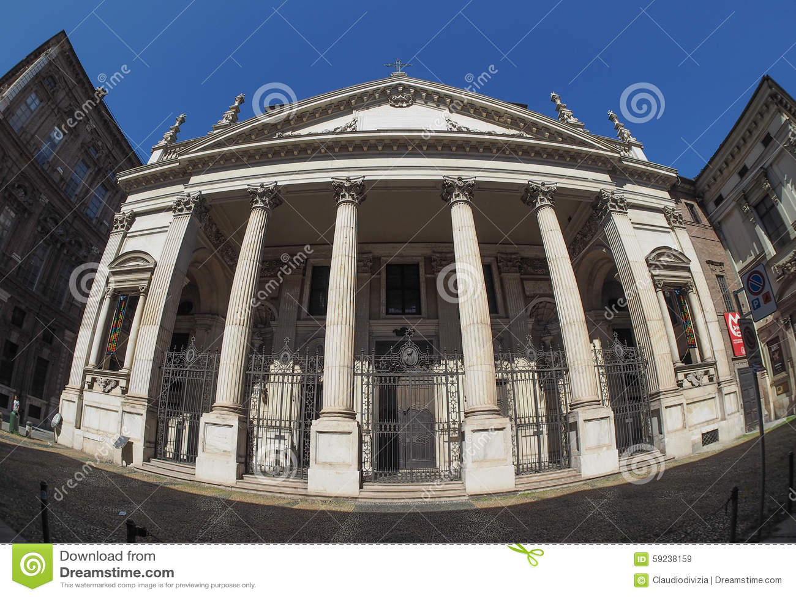 Download Iglesia De San Filippo Neri En Turín Imagen de archivo - Imagen de cityscape, europa: 59238159