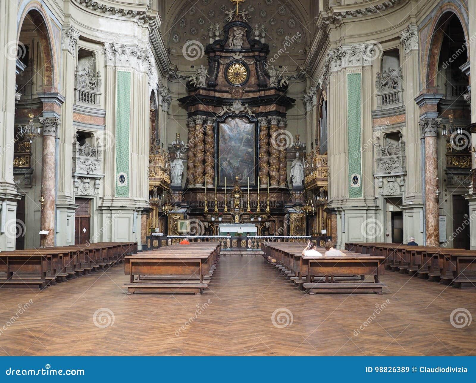 Iglesia de San Filippo Neri en Turín