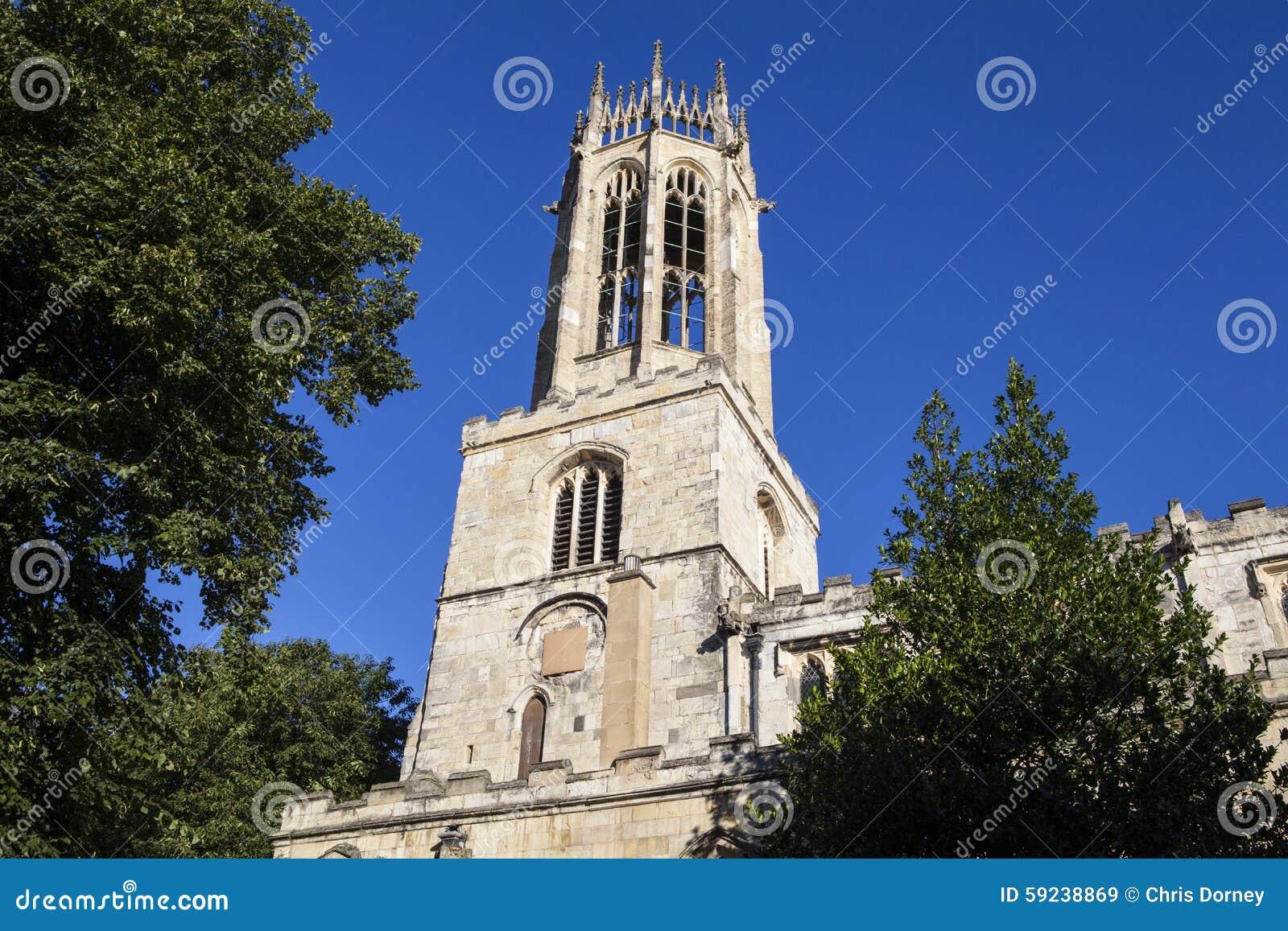 Iglesia de todo el pavimento de los santos en York