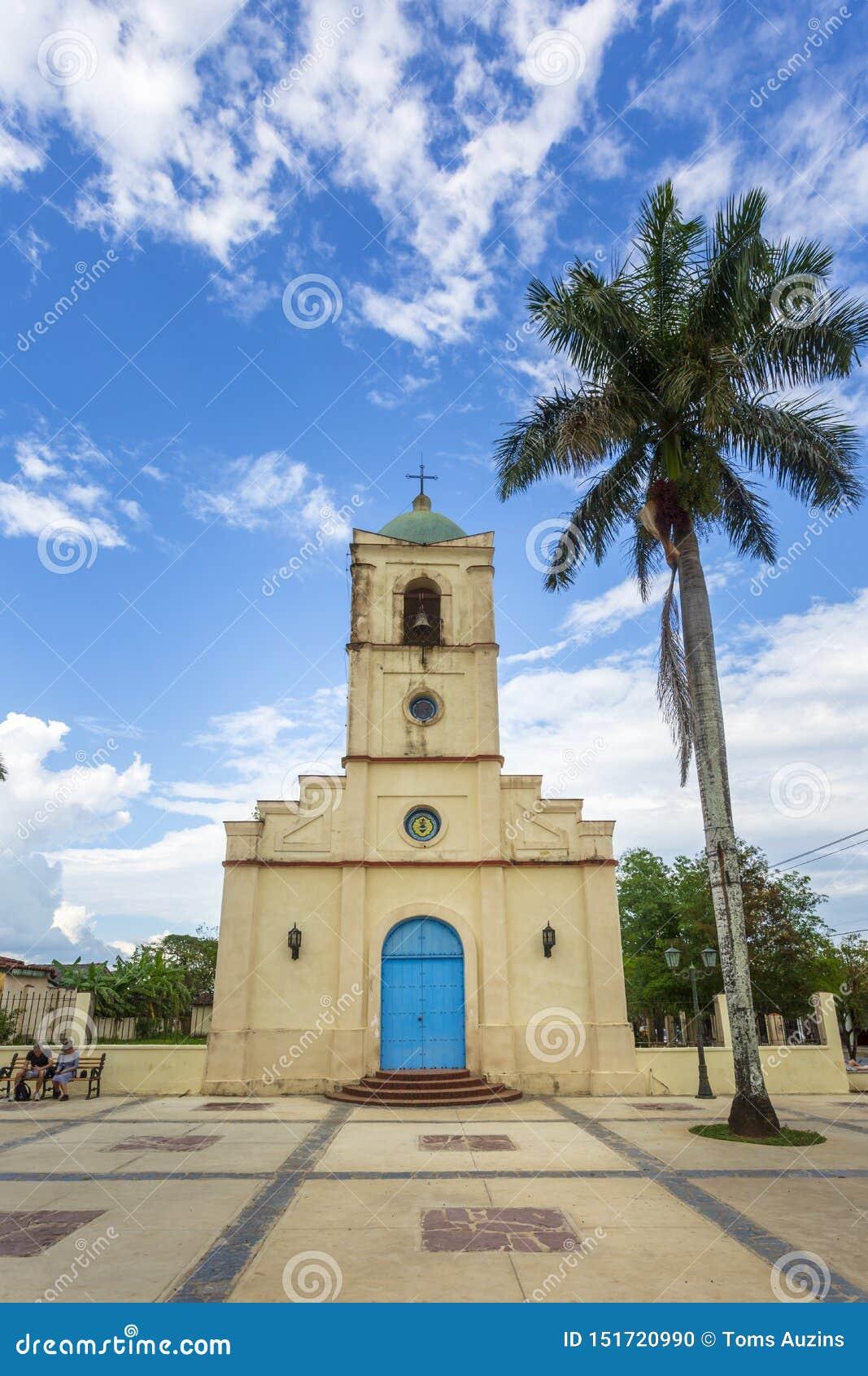 Iglesia de Vinales, la UNESCO, Vinales, Pinar del Rio Province, Cuba, las Antillas, el Caribe, America Central