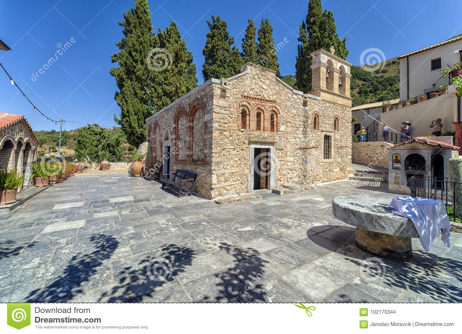 Iglesia del kera de Panagia, Creta - Grecia