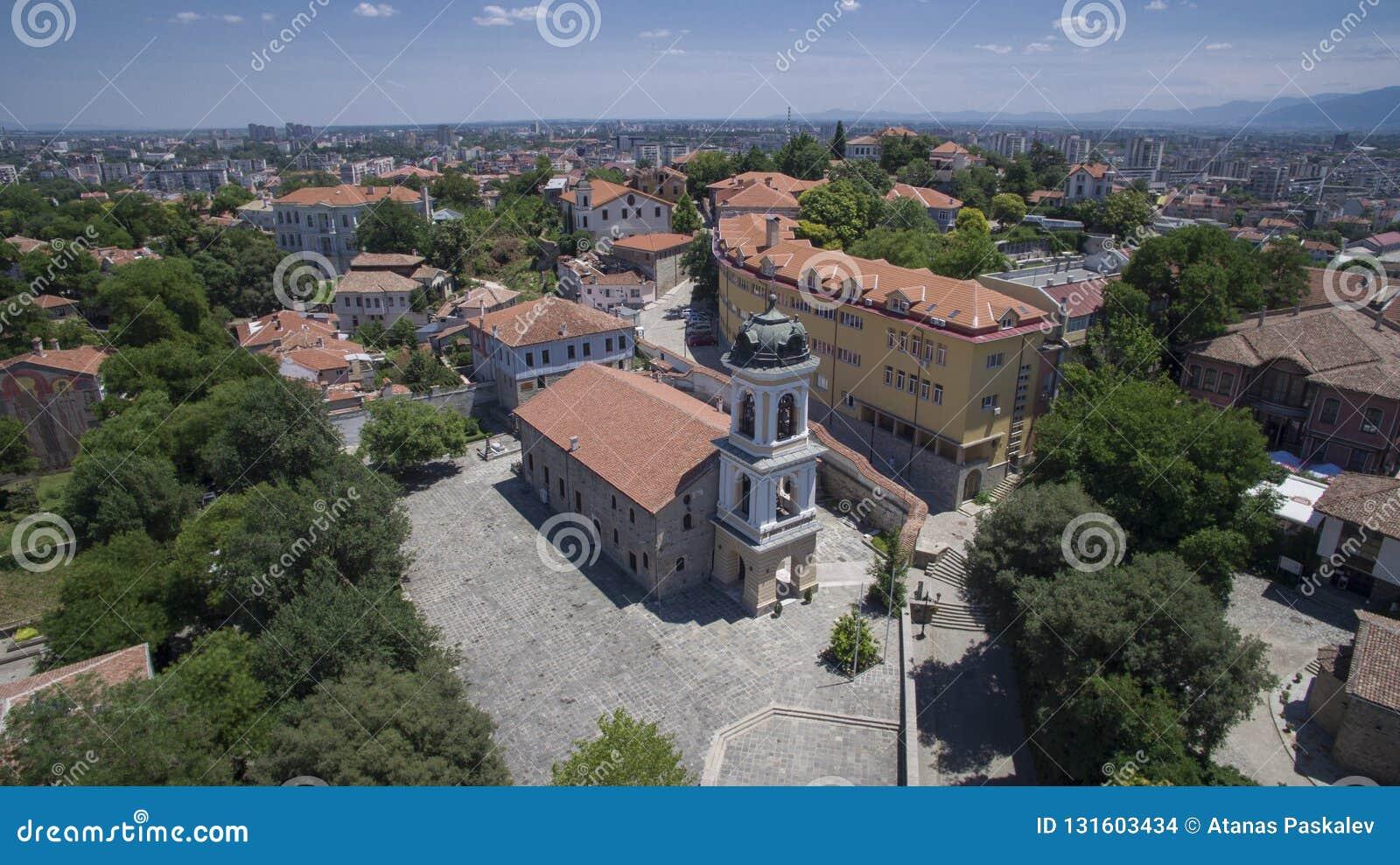 Iglesia del St Bogoroditsa, Plovdiv, Bulgaria, el 23 de octubre de 2018
