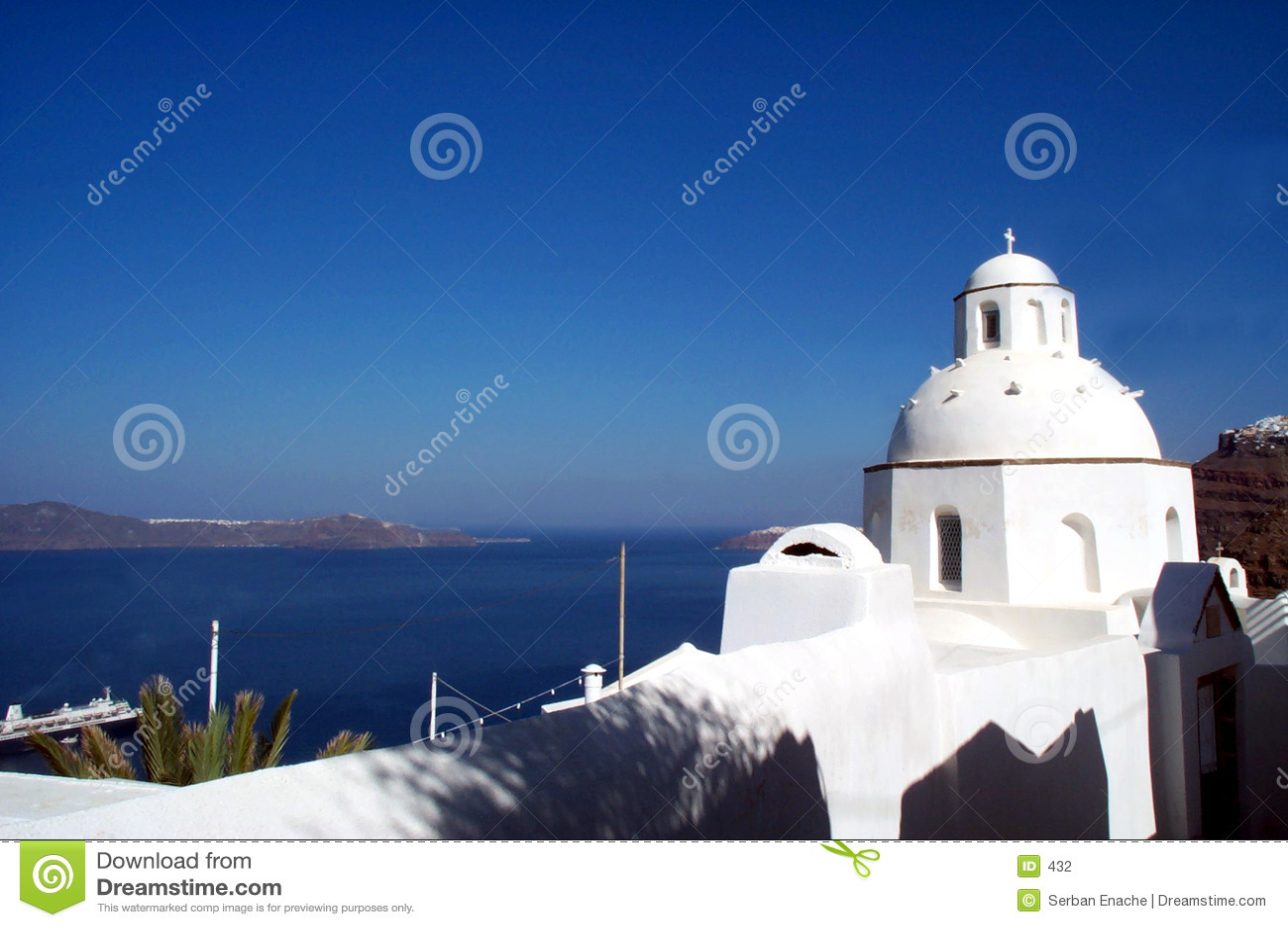 Iglesia en Santorini