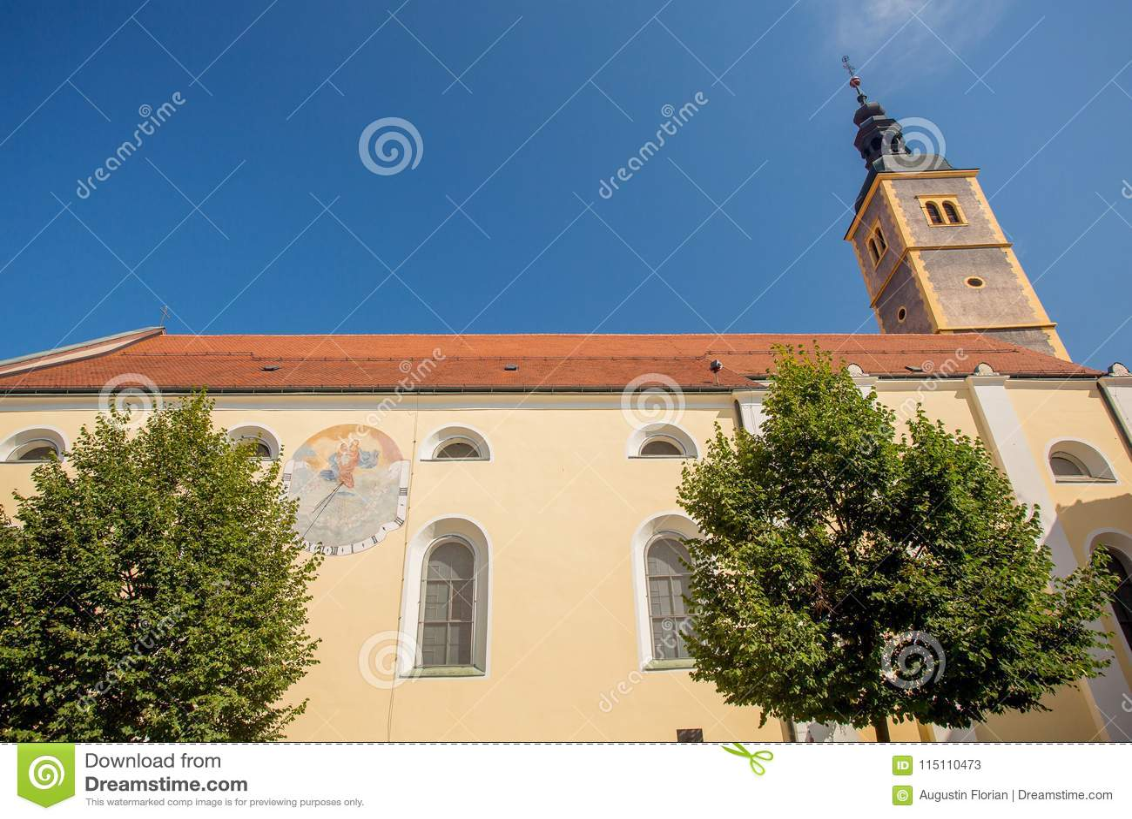 Iglesia en Varazdin, Croacia