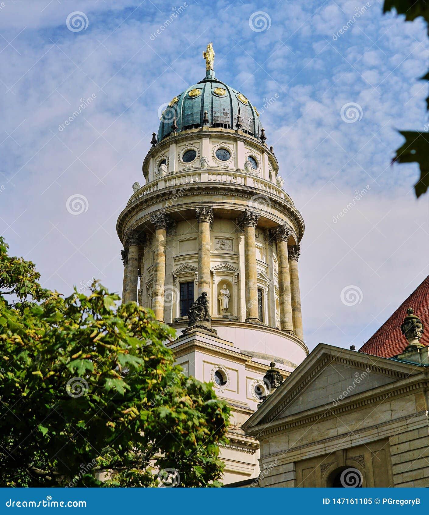 Iglesia francesa de la catedral en Berlin Germany