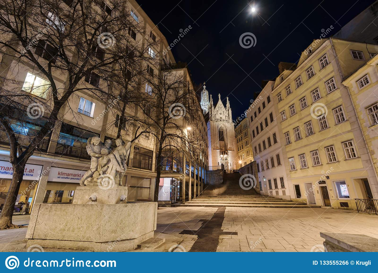 Iglesia gótica de Maria Gestade en Wien