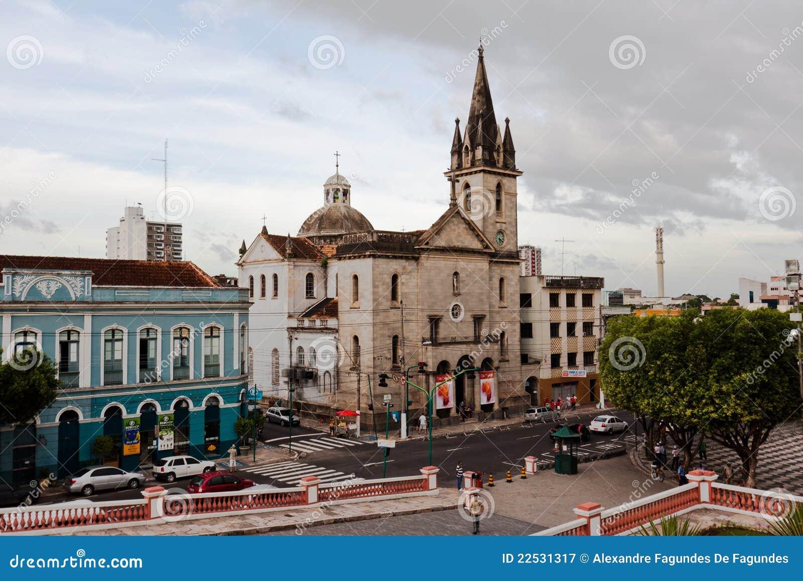 Iglesia Manaus el Brasil de San Sebastian