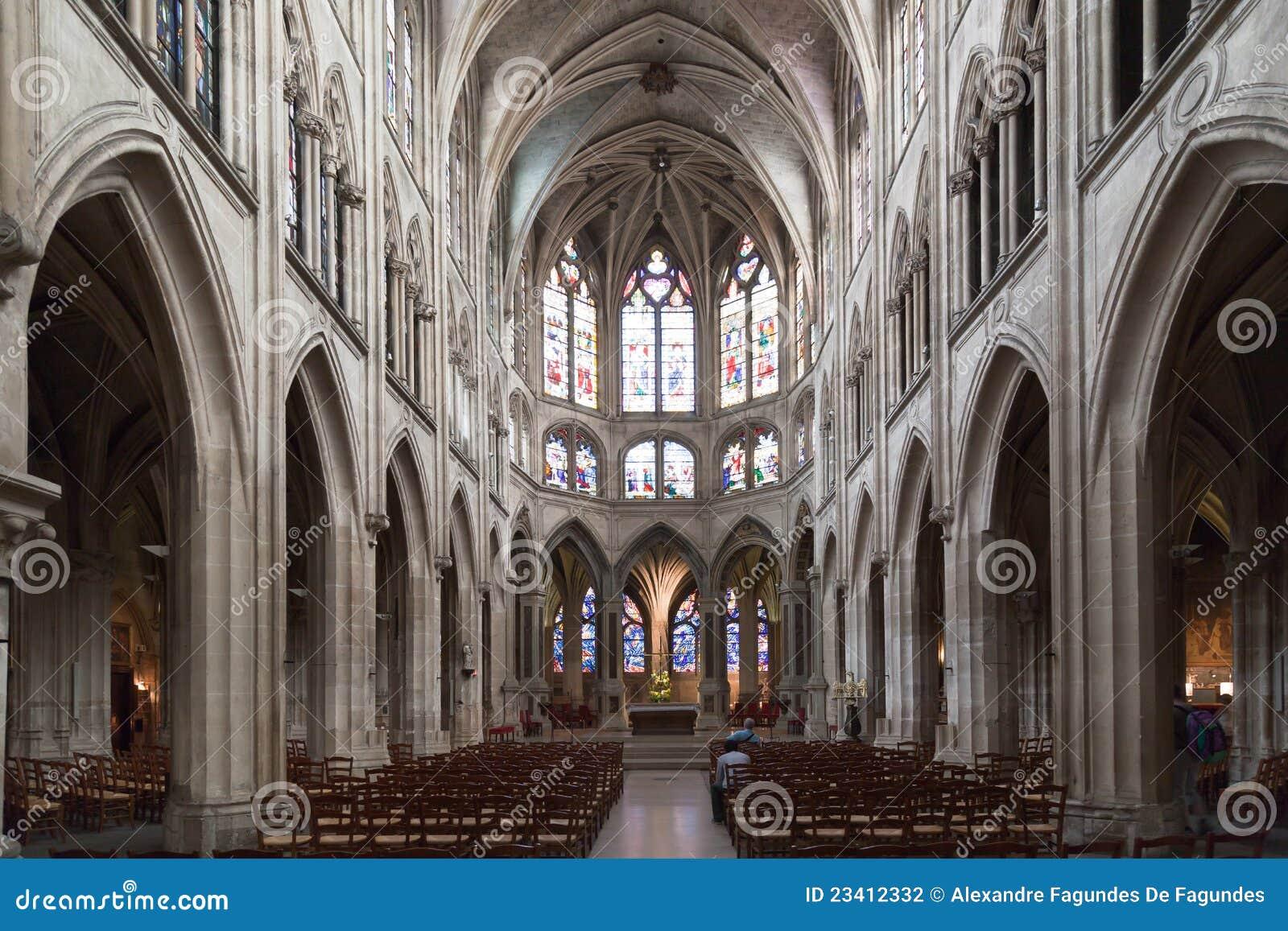 Iglesia París de Severin del santo