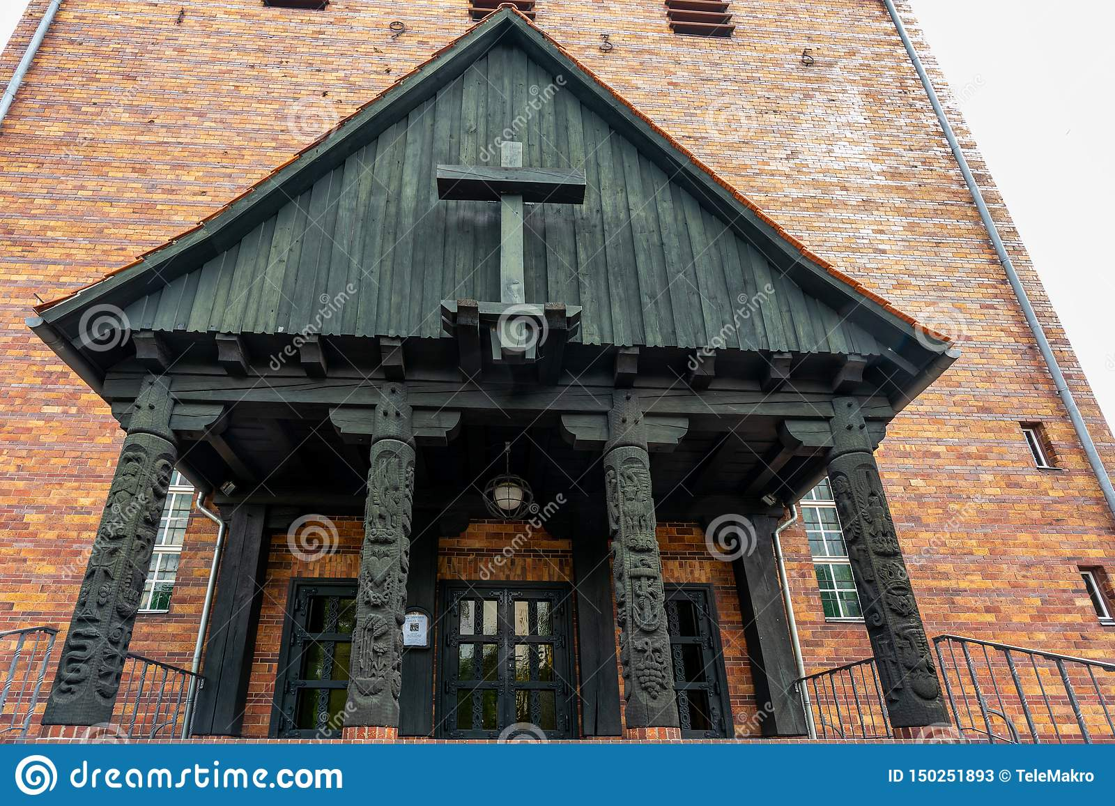 Iglesia protestante de Juan en Berlin Frohnau Germany