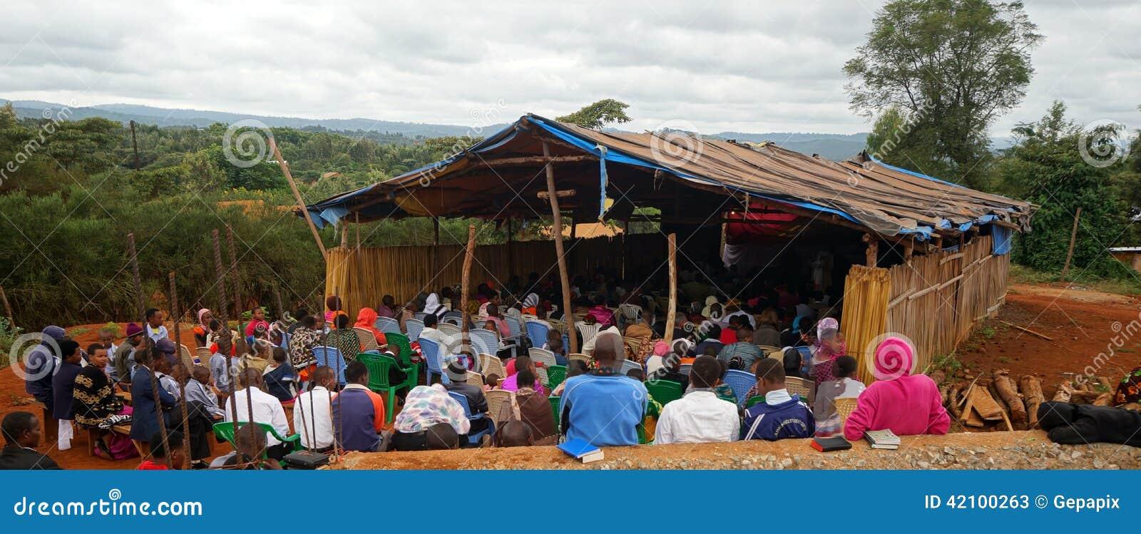 Iglesia protestante en Tanzania