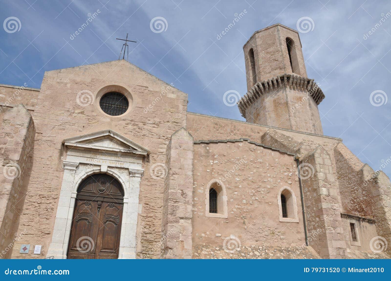 Iglesia Saint Laurent, Marsella, Francia