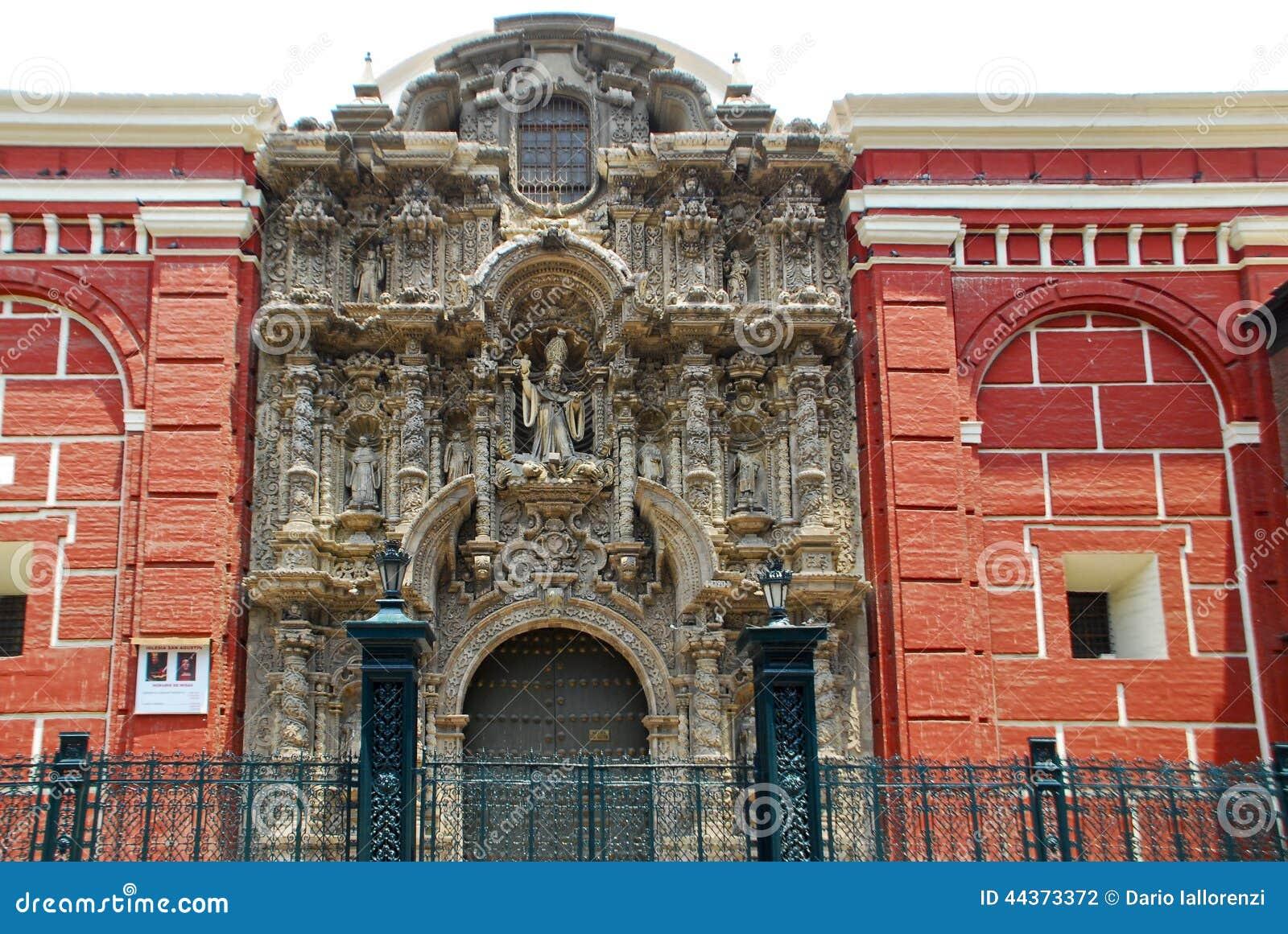 Iglesia San Agustin, Lima