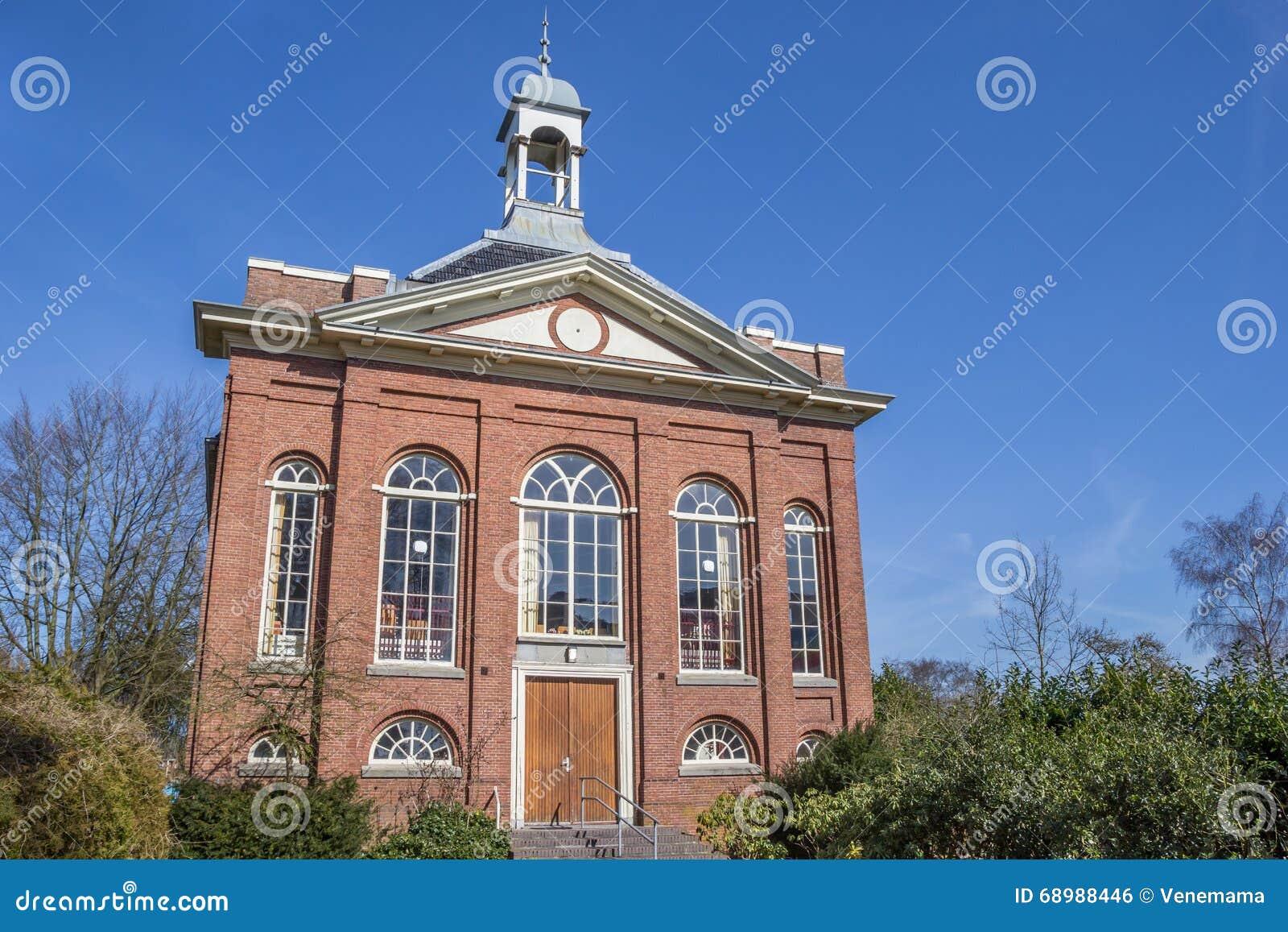 Iglesia vieja Doopsgezinde Kerk en Sappemeer