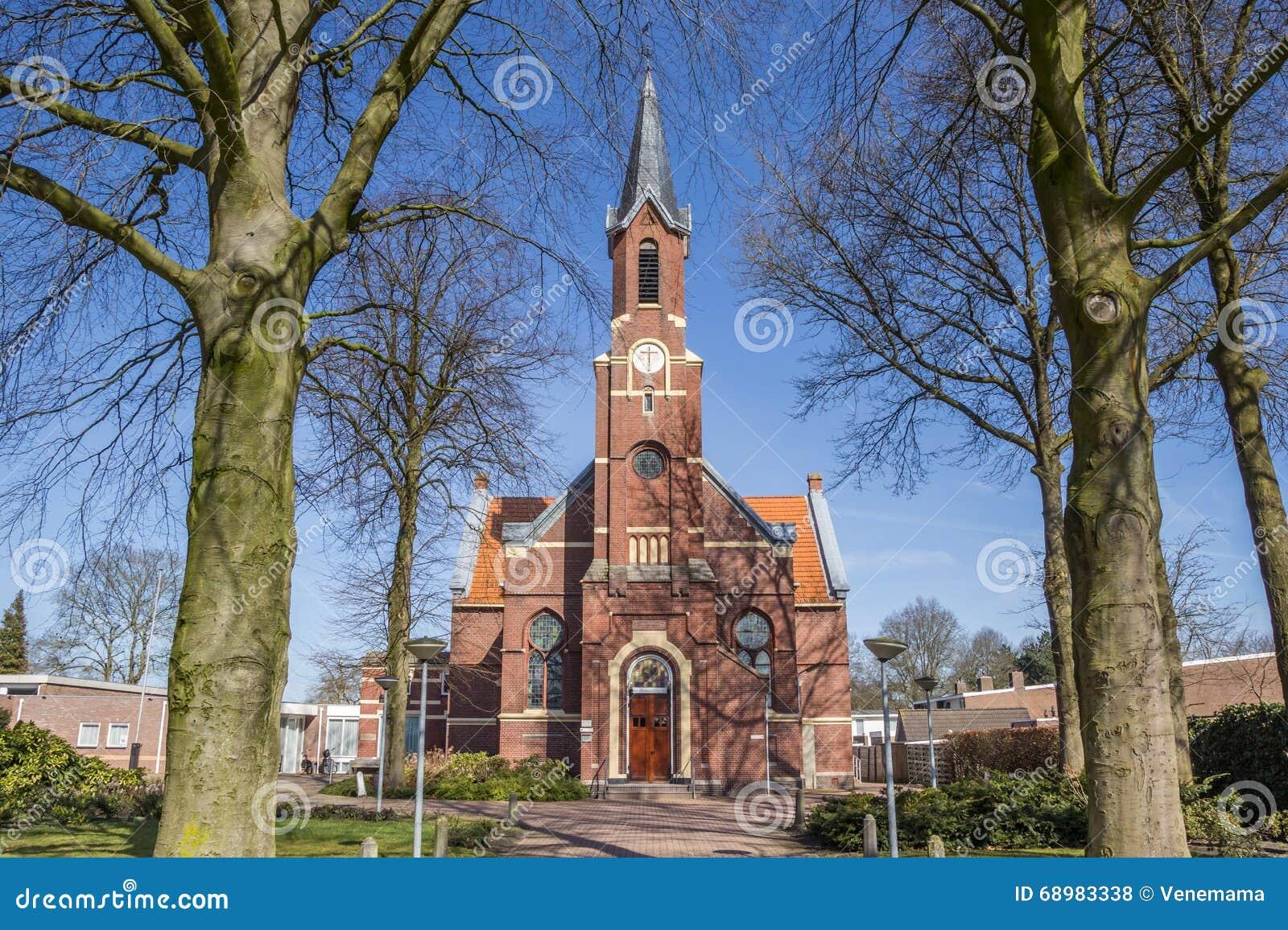 Iglesia vieja Ontmoetingskerk en Sappemeer