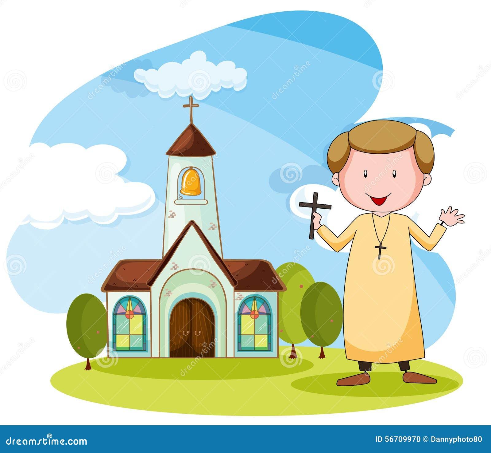 Iglesia y sacerdote