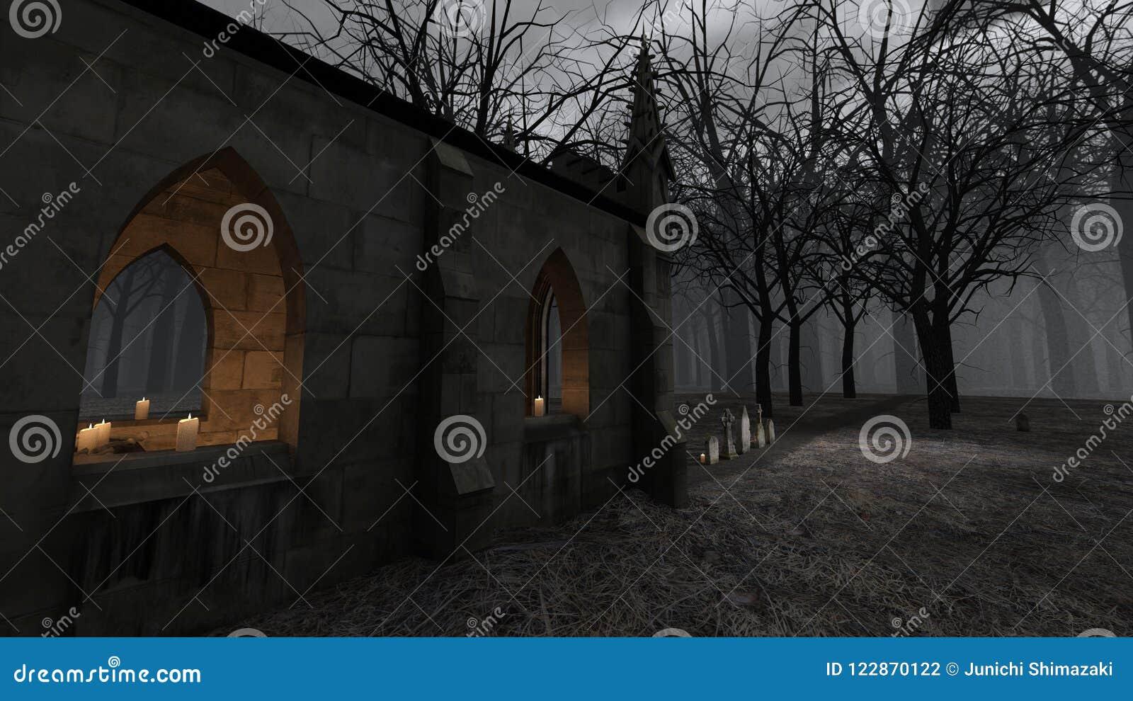 Iglesia y sepulcro