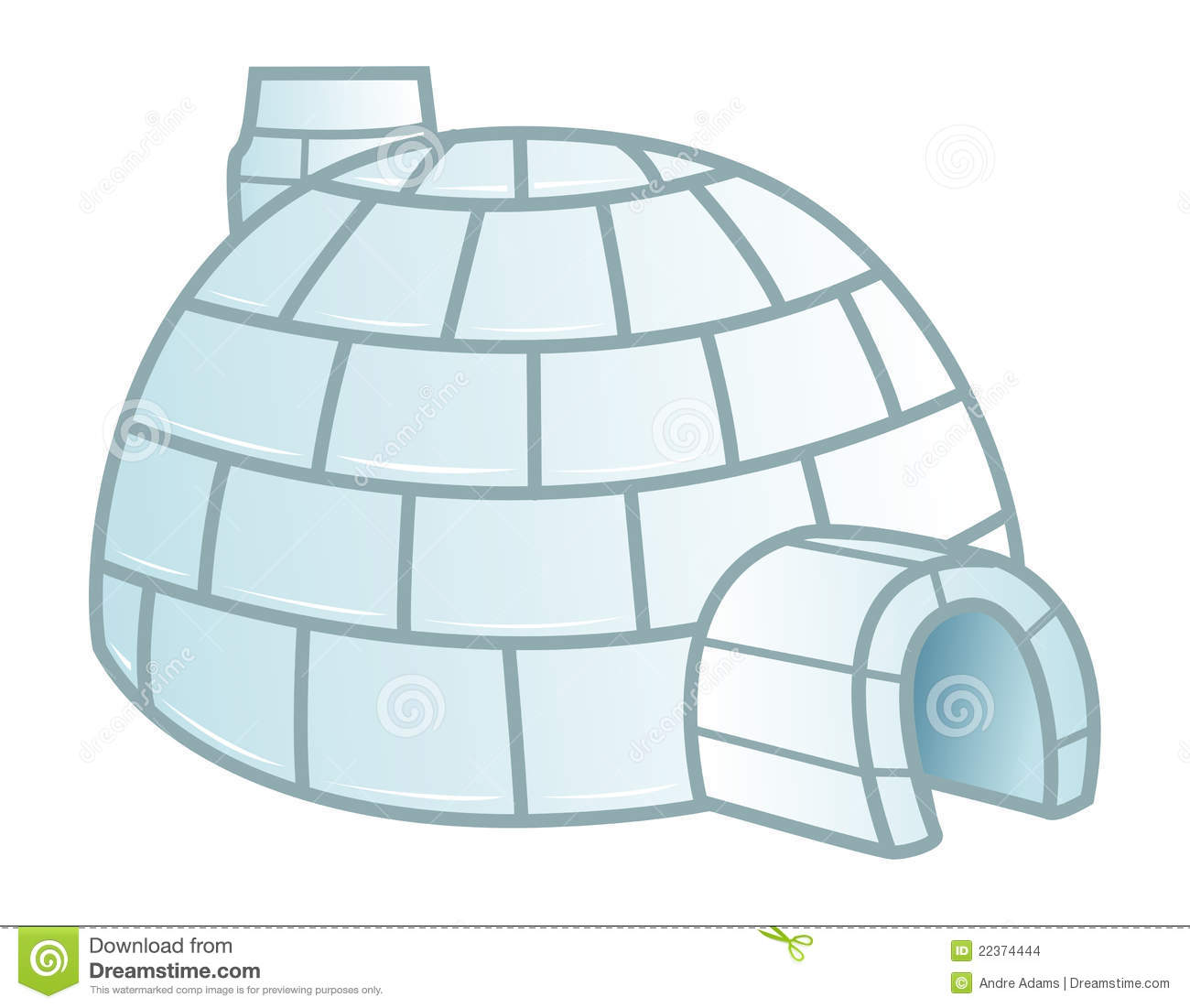 Igloo stock vector illustration of canada north house 22374444 igloo pooptronica