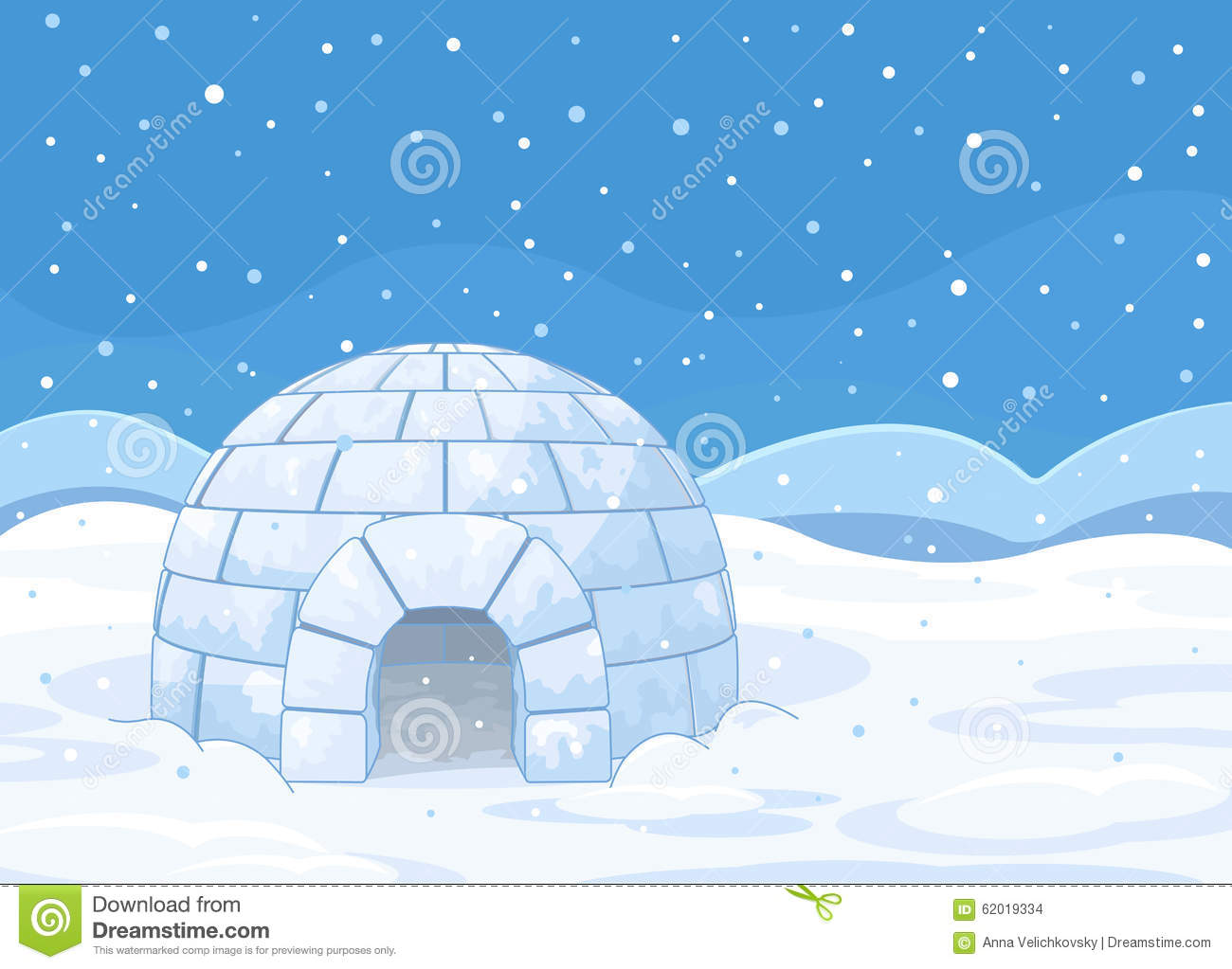 how to build an igloo with snow block maker