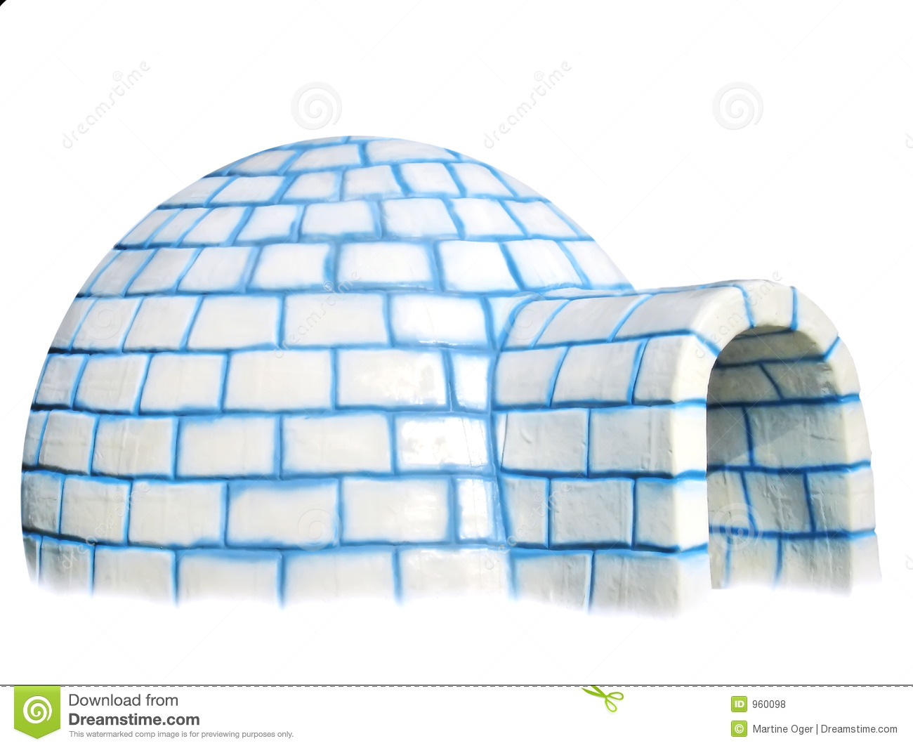 House Plan Design Igloo Isolated Royalty Free Stock Photos Image 960098