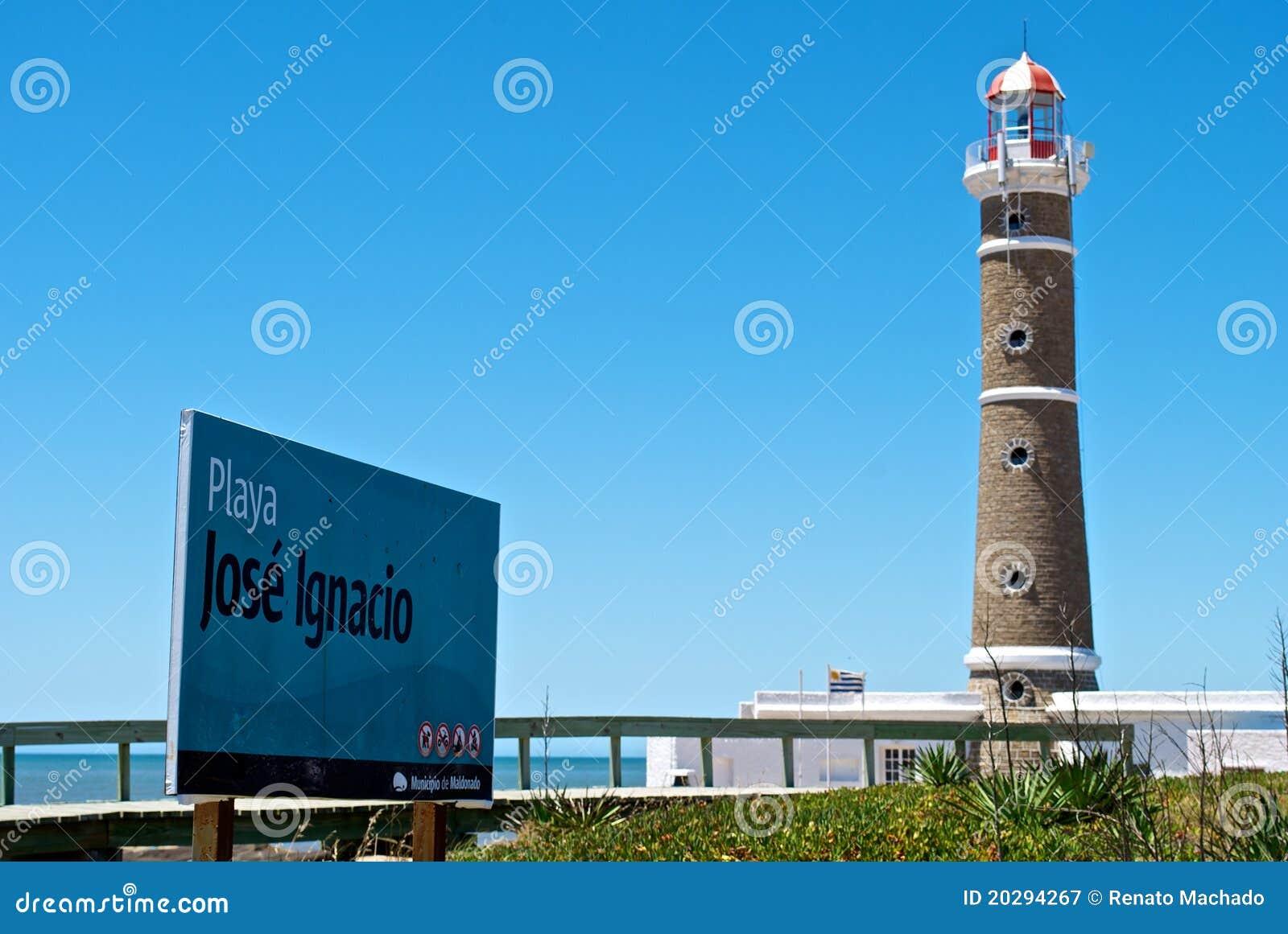 Ignacio Jos latarni morskiej playa wierza