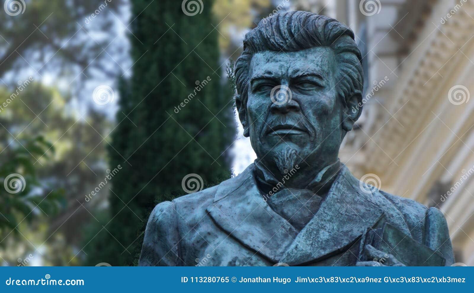 Ignacio Manuel Altamirano rzeźba