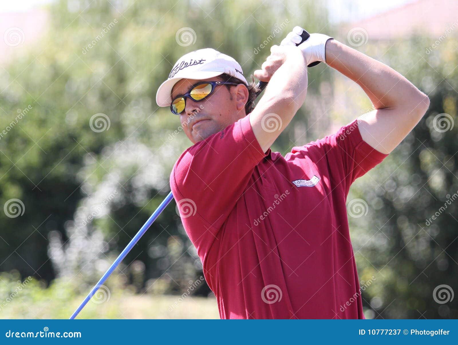 Ignazio Bermudo a golf Prevens Trpohee 2009