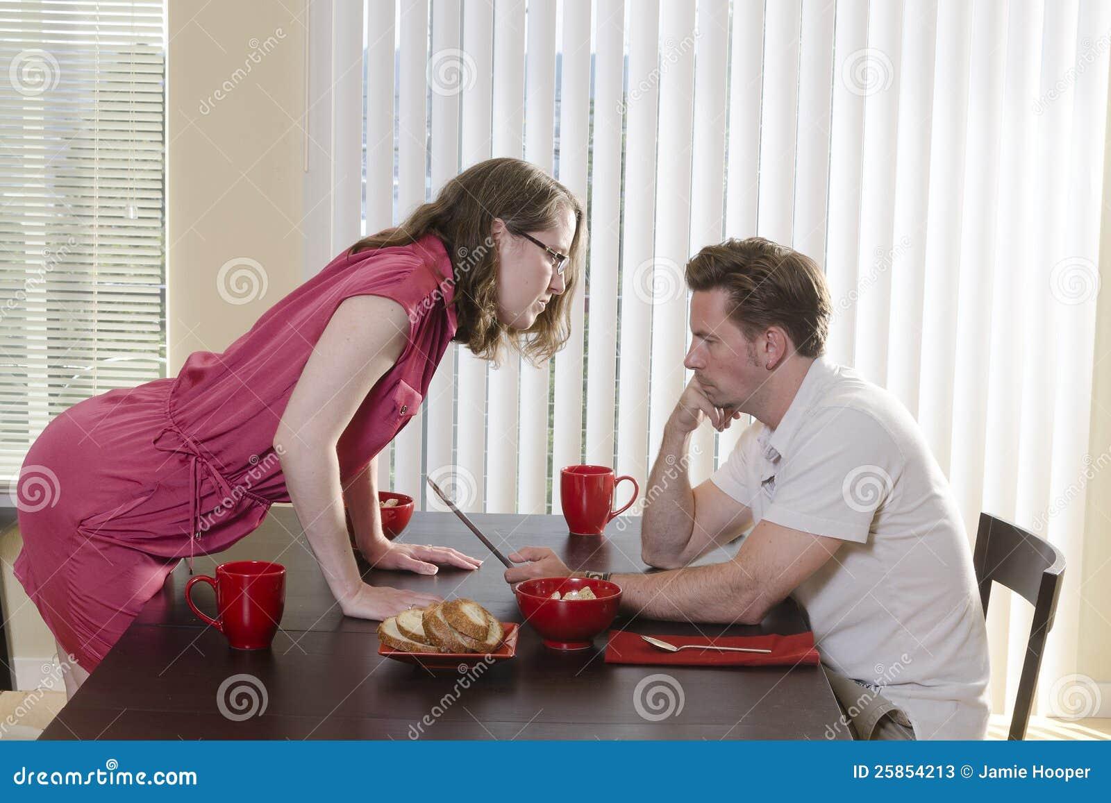 Ignoring Husband